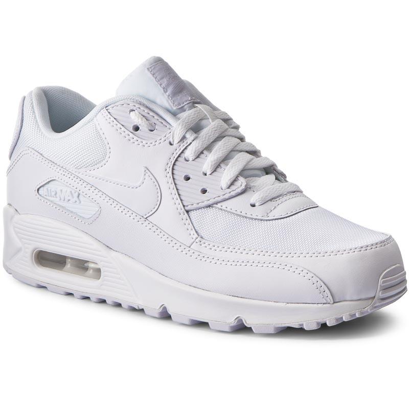 Shoes NIKE Air Max 90 Ltr (GS) 833412 100 WhiteWhite
