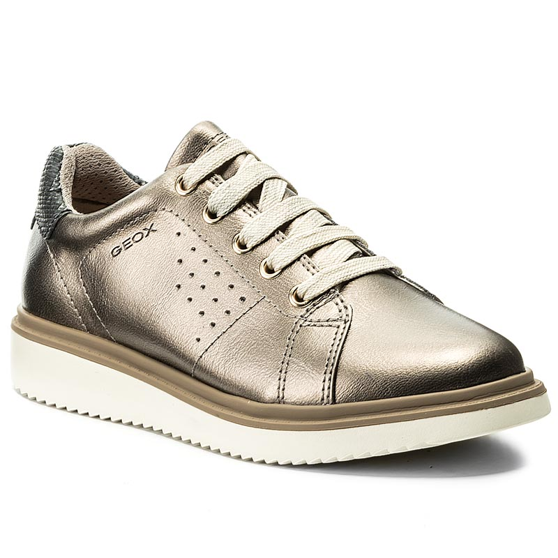 Details about Geox Sp Erast U923EA Men's Shoes Sneakers Leather Suede Fabric Laces Casual