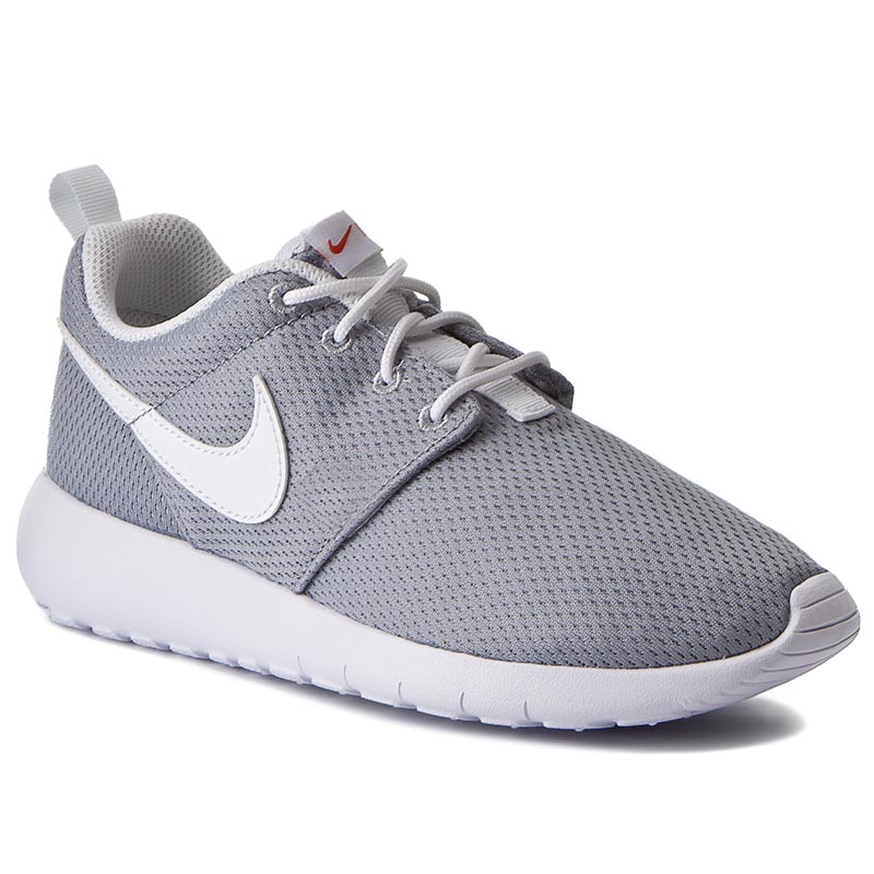huge discount 4a24f 0504b Shoes NIKE Roshe One (GS) 599728 038 Wolf Grey White Safety Orange