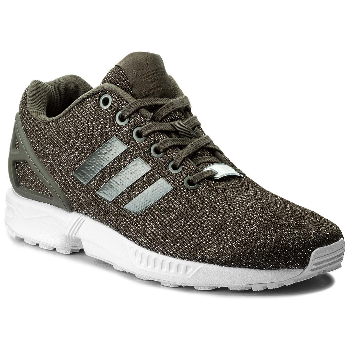 reputable site 777b3 62c64 Shoes adidas - Zx Flux K M21294 Black/FTWWhite - Sneakers ...
