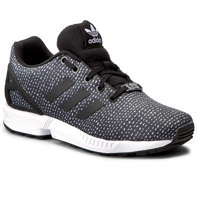 0c3766997abbc Shoes adidas - Zx Flux K S82695 Cblack Cblack - Sneakers - Low shoes ...