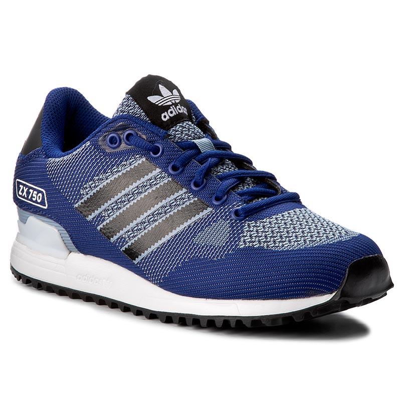 2322e9136acbc Shoes adidas - Zx Flux C BY9856 Cblack Cblack Ftwwht - Laced shoes ...
