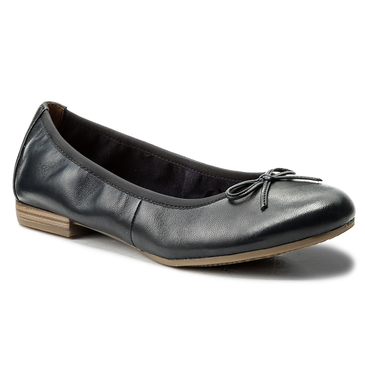 Flats TAMARIS 1 22116 20 Cognac Struct 372 Ballerina