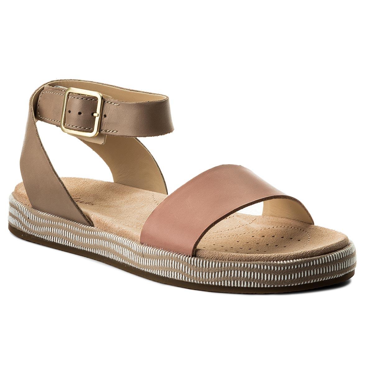 9baac0eb2 Sandals CLARKS - Botanic Ivy 261319584 Yellow Combination - Casual ...
