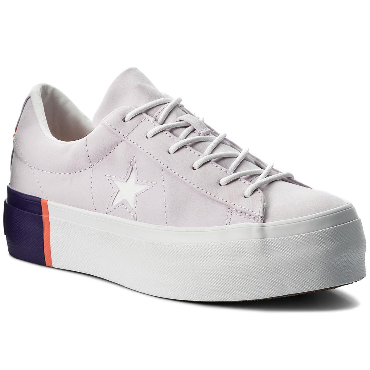 7b7d4bb664bb Sneakers CONVERSE One Star Platform Ox 559902C Barely Grape Rush Coral White