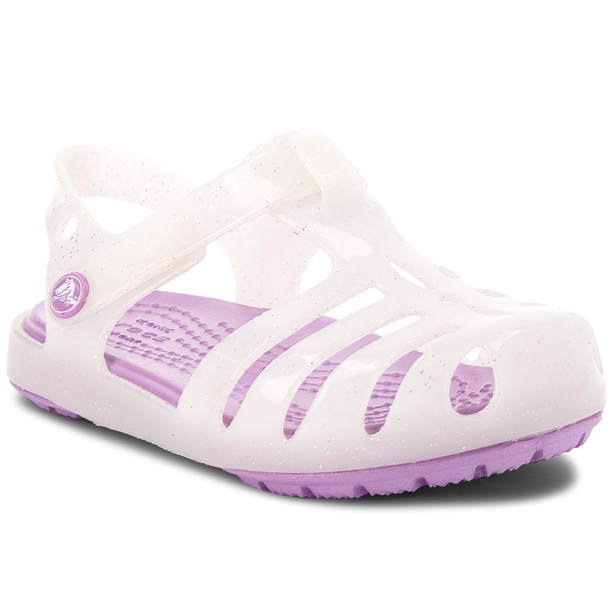 6a203361799b Sandals CROCS - Isabella Novelty Sandal 205038 Neon Purple - Sandals ...