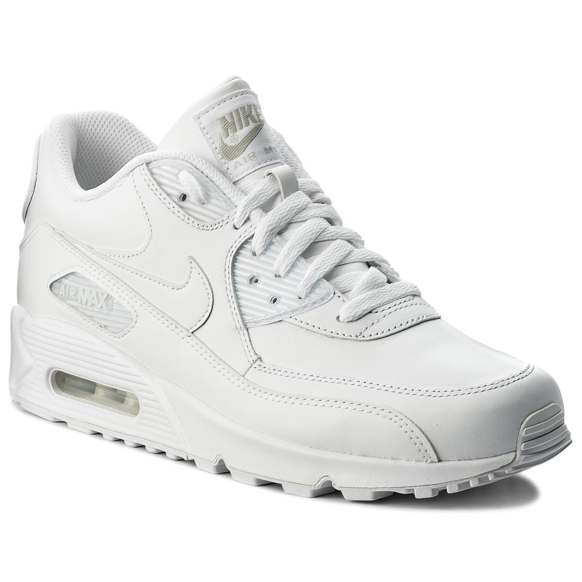 check out 95cce f3028 Shoes NIKE Air Max 90 Leather 302519 113 True White True White