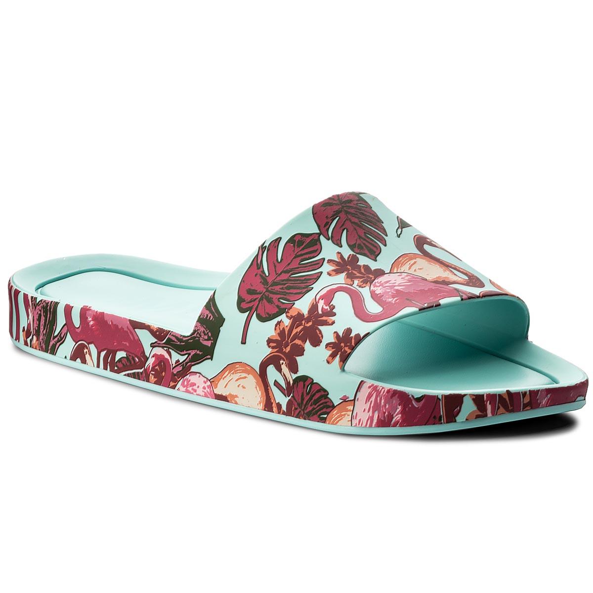 7b1ec77e42 Slides MELISSA - Beach Slide Platform A 32350 White Pink 50600 ...