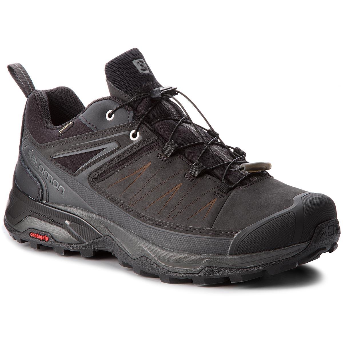 Chaussures de trekking SALOMON Quest Prime Gtx W GORE TEX 404636 22 V0 LeadStormy WeatherEggshell Blue