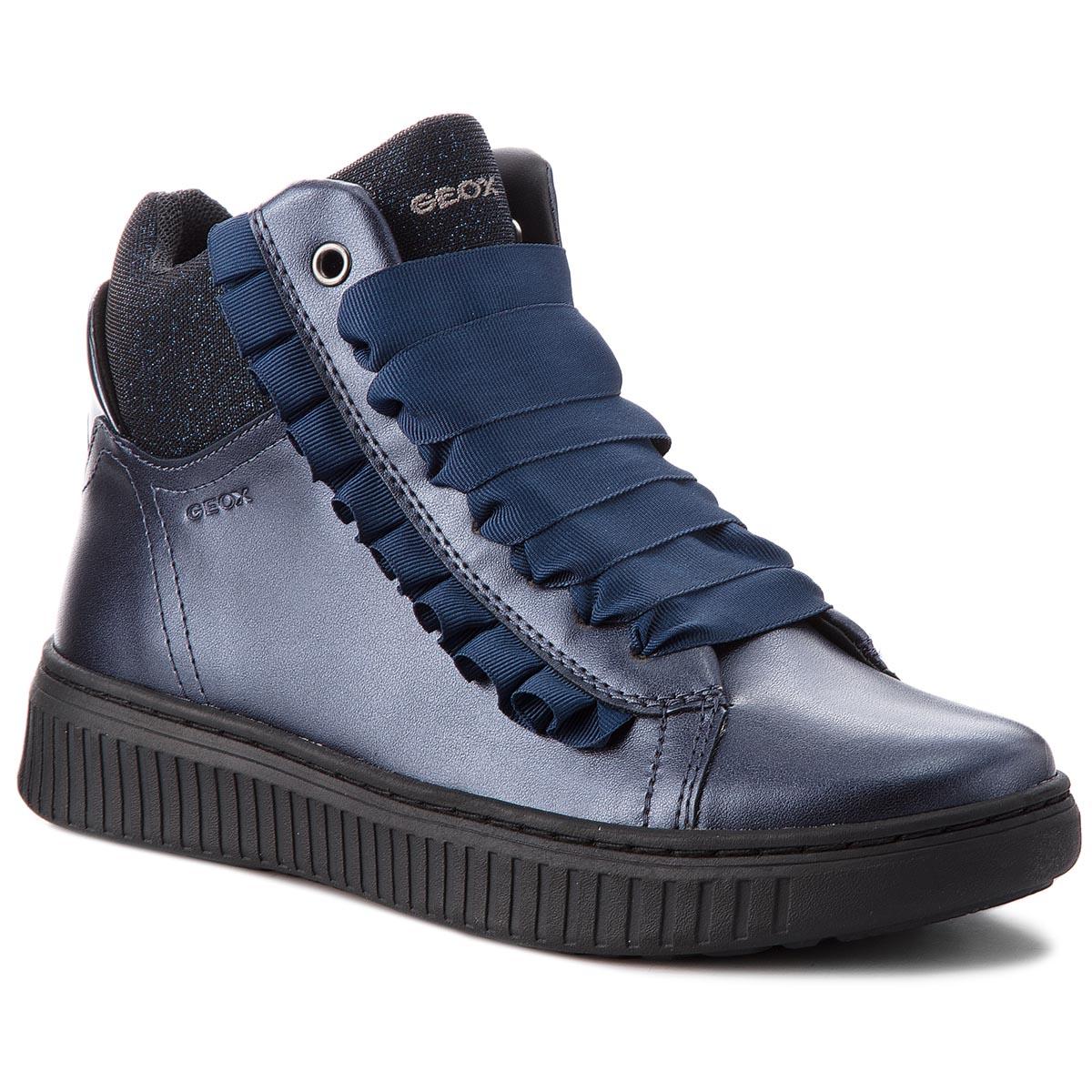 Shoes Navy Low Hideaki Geox J GI Velcro C4002 011au J721xi D vnmN80wO