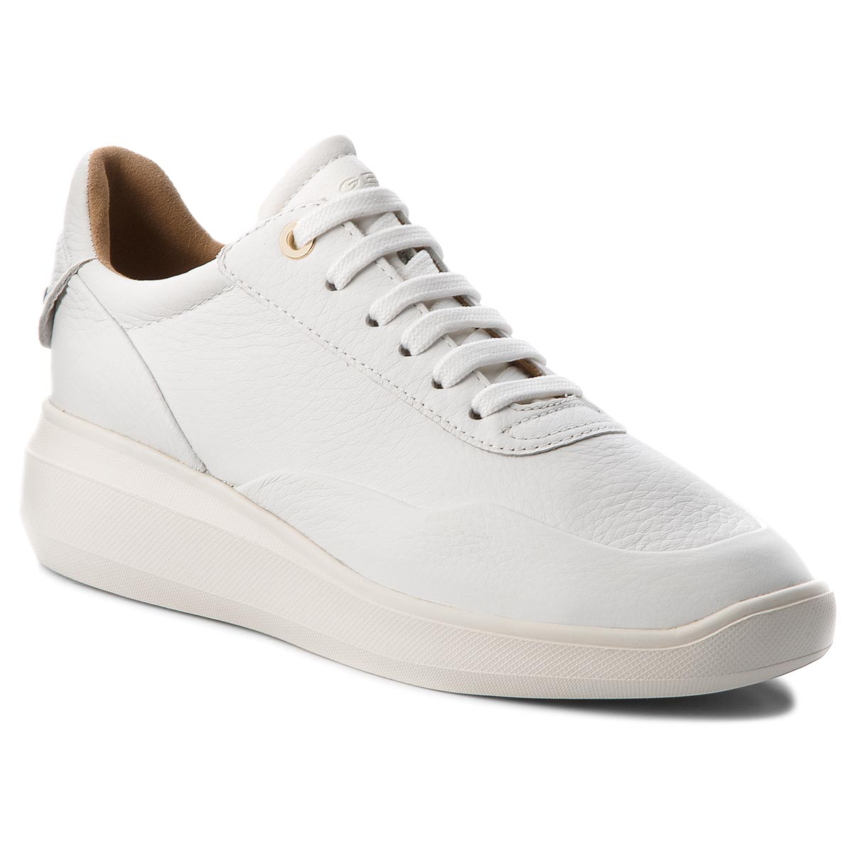 Sneakers GEOX D Rubidia A D84APA 00022 C2021 Curry