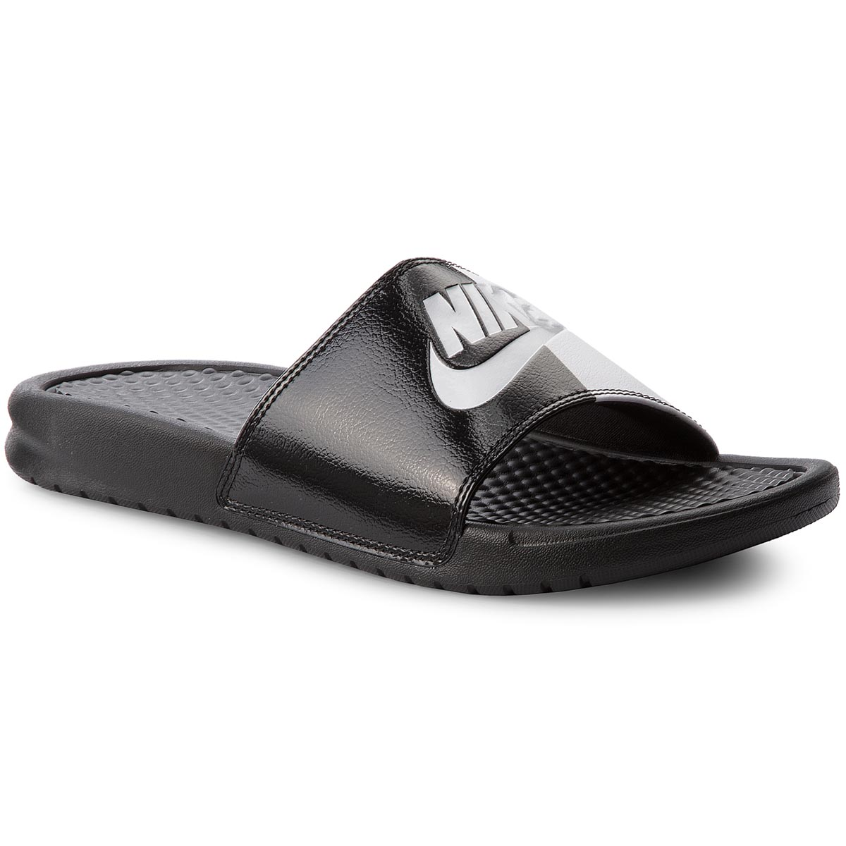 watch 87b6f 695bf Slides NIKE Benassi Jdi 343880 015 Black Pure Platinum Black. €26,00