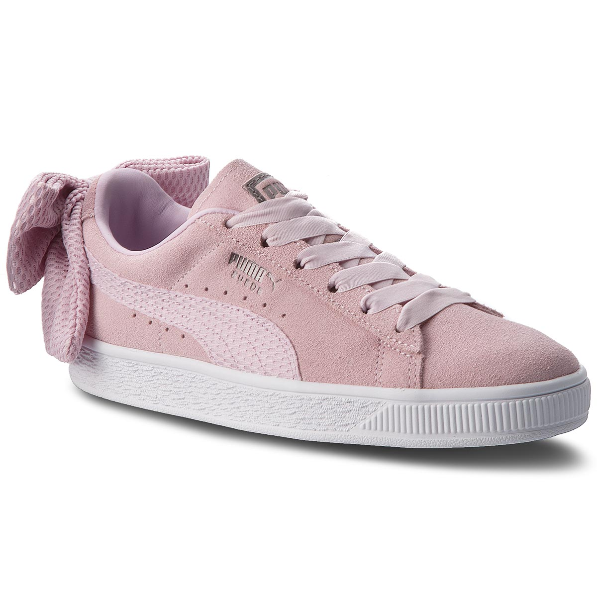 ab7ac586d Sneakers PUMA Suede Bow Uprising Wn's 367455 03 Winsome Orchid/Puma White