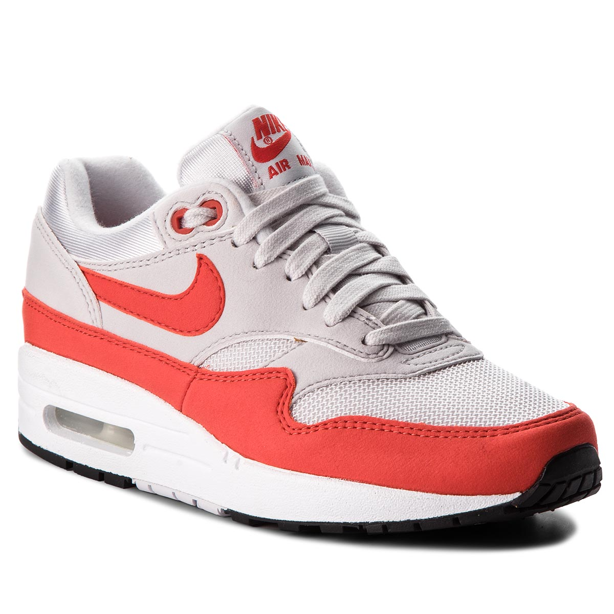 76bccefc3997 Shoes NIKE - Air Max 1 319986 115 White Black Wolf Grey - Sneakers ...