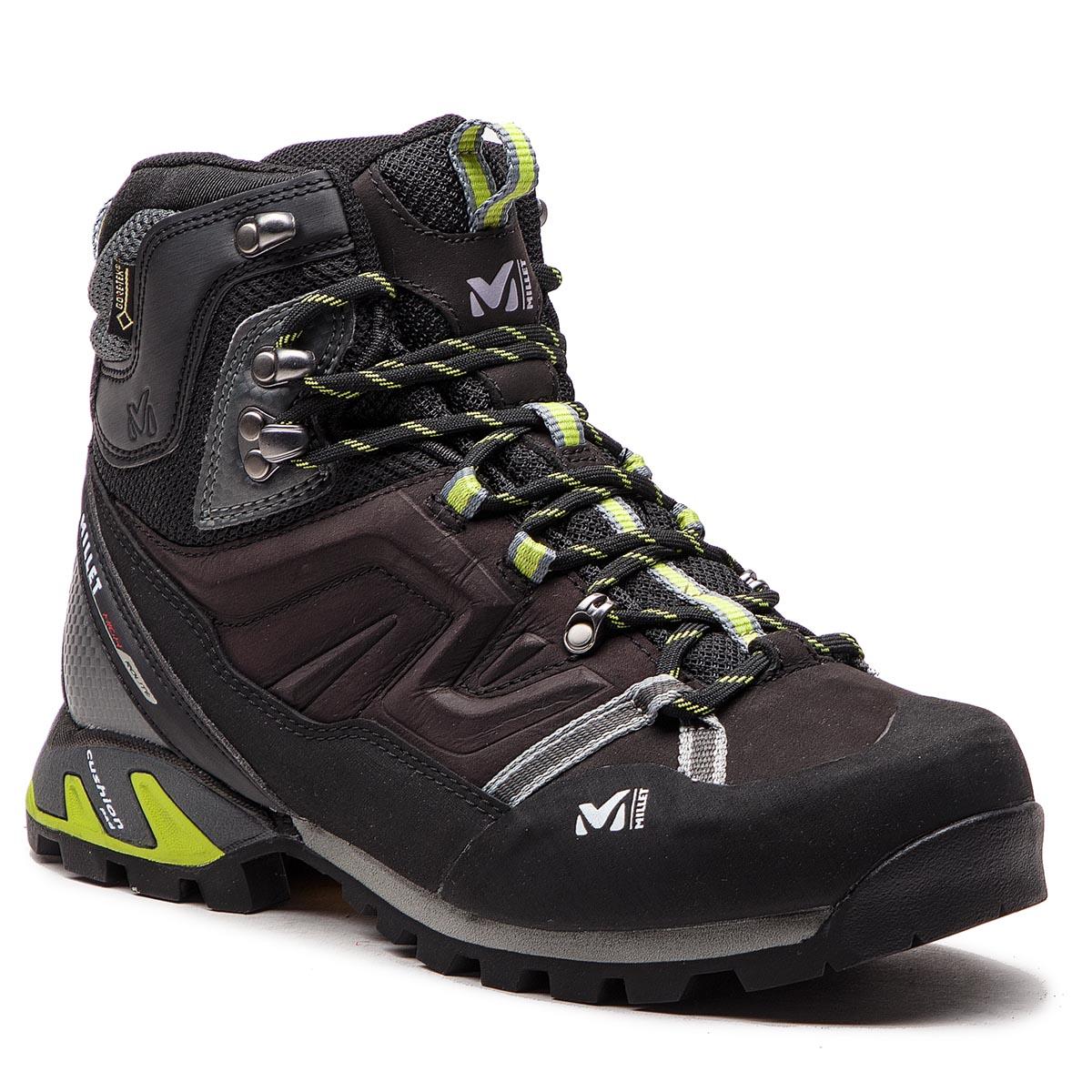 58a8f79a7ae Trekker Boots MILLET - High Route Gtx MIG1784 Black/Acid Green 7216 ...