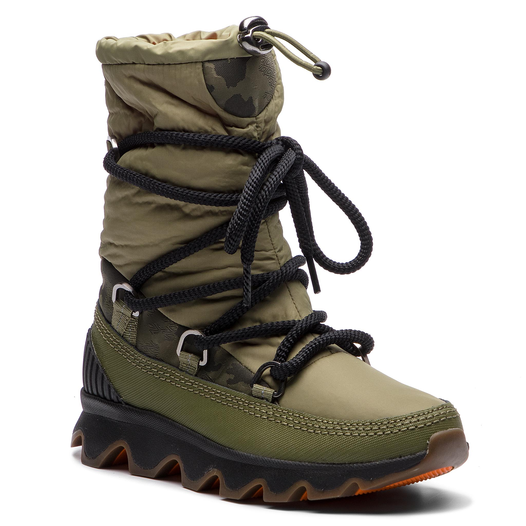 3eeac6b4d406 Shoes SOREL - Youth Rylee Camo NY1900 Black Light Bisque 010 - Boots ...