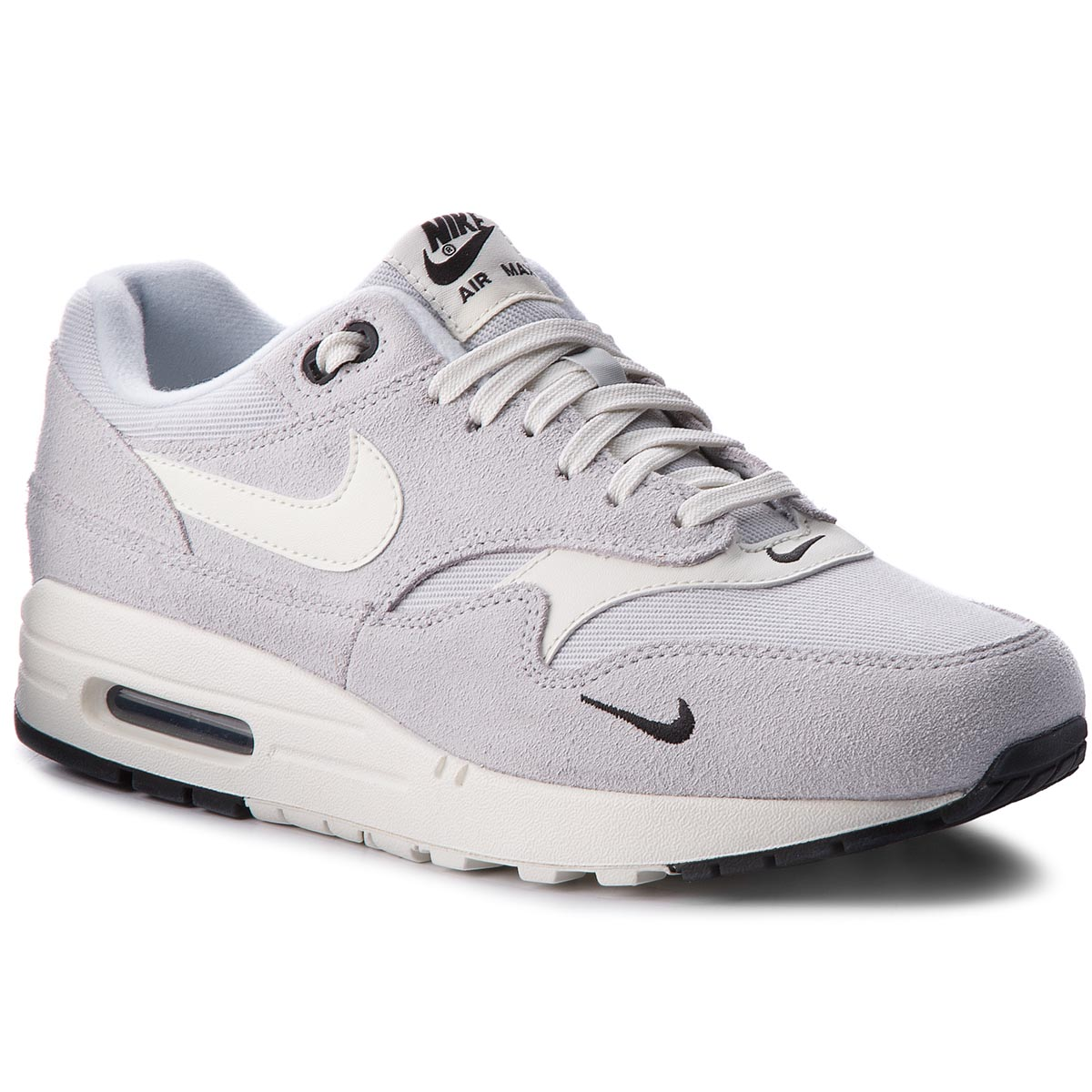 huge selection of 9cc9c 57e69 Shoes NIKE Air Max 1 Premium 875844 006 Pure Platinum Sail Black White
