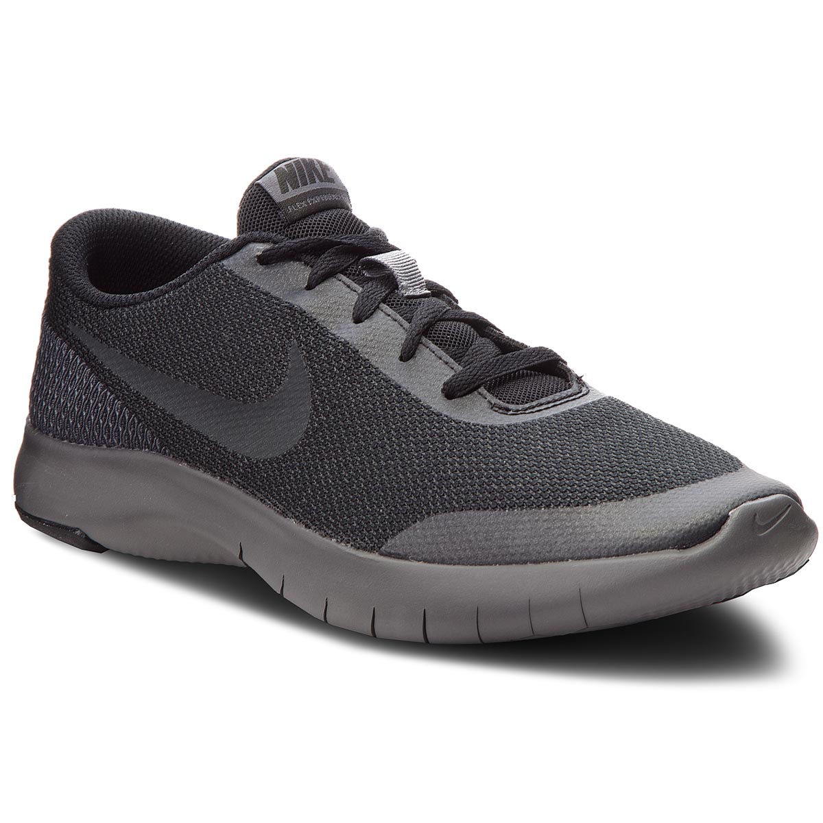 a07a79ede1 Shoes NIKE Flex Experience Rn 7 (GS) 943284 006 Black/Anthracite/Dark Grey