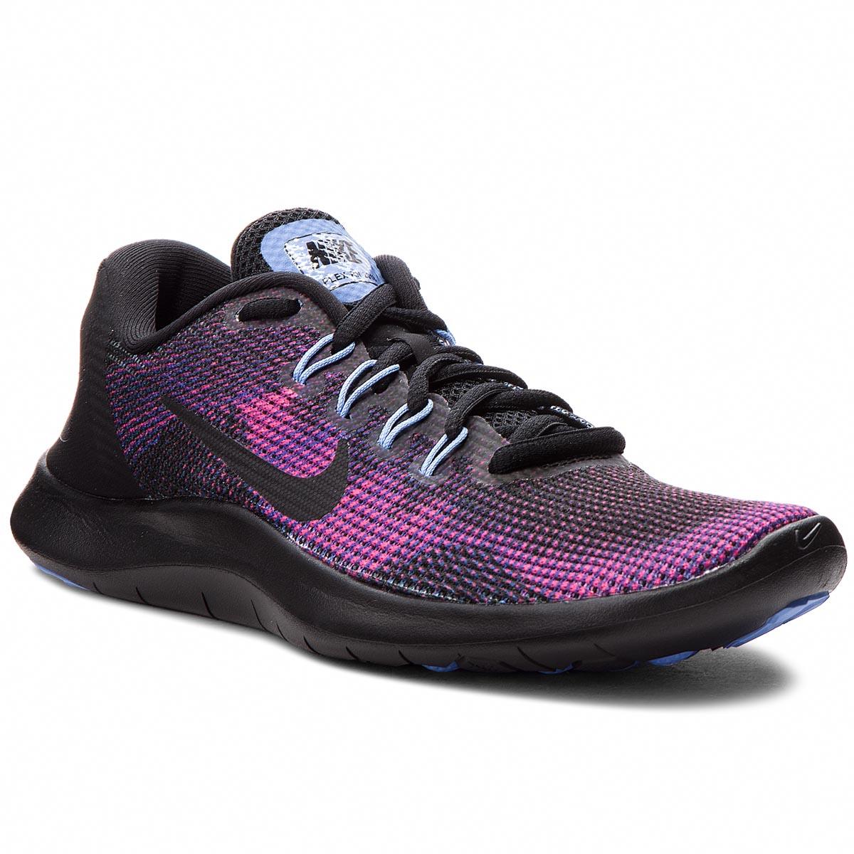 finest selection 7445f c903b Shoes NIKE Flex 2018 Rn AA7408 003 Black Black Royal Pulse