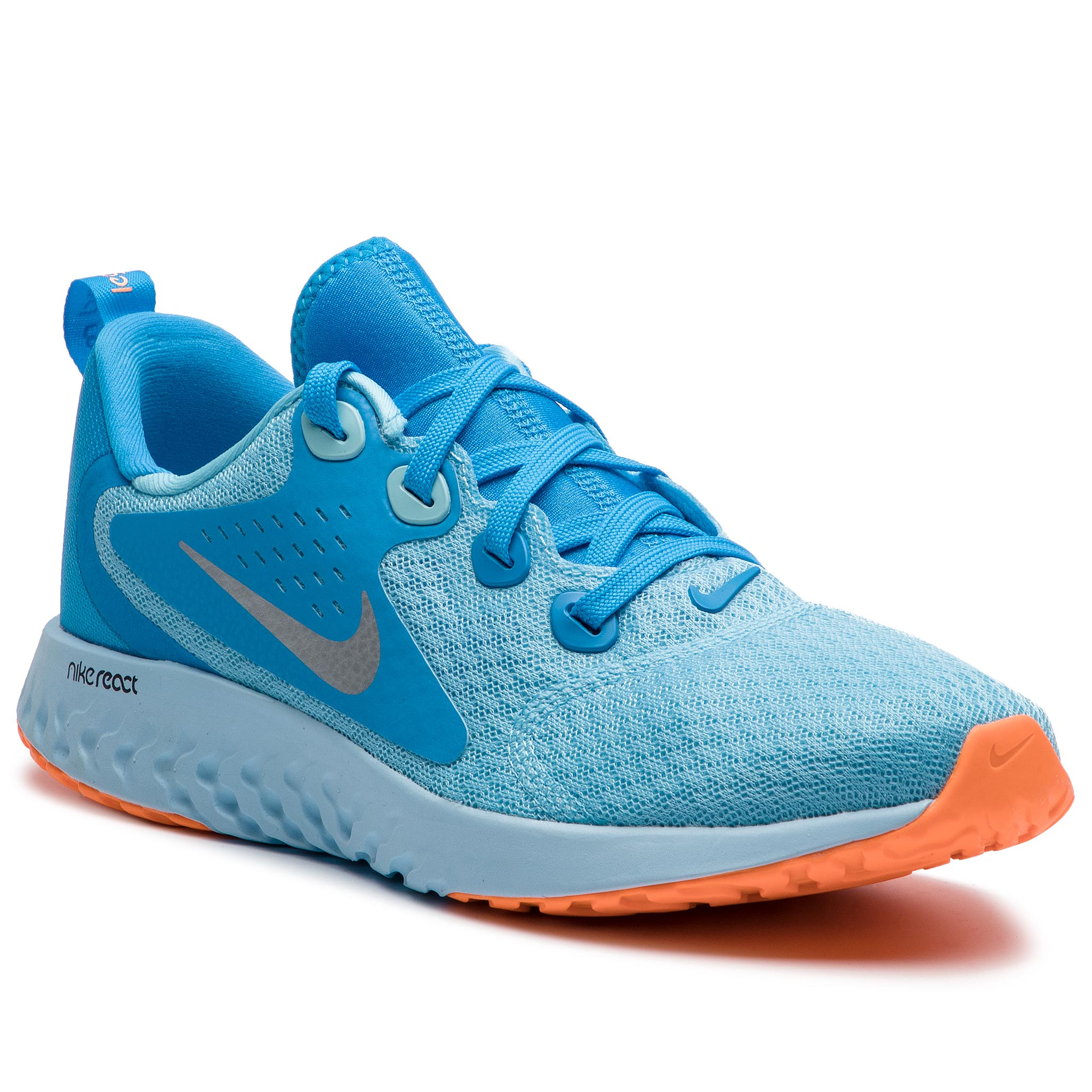 b1d9917100 Shoes NIKE - Legend React (GS) AH9437 600 Pink/Ashen Slate - Indoor ...