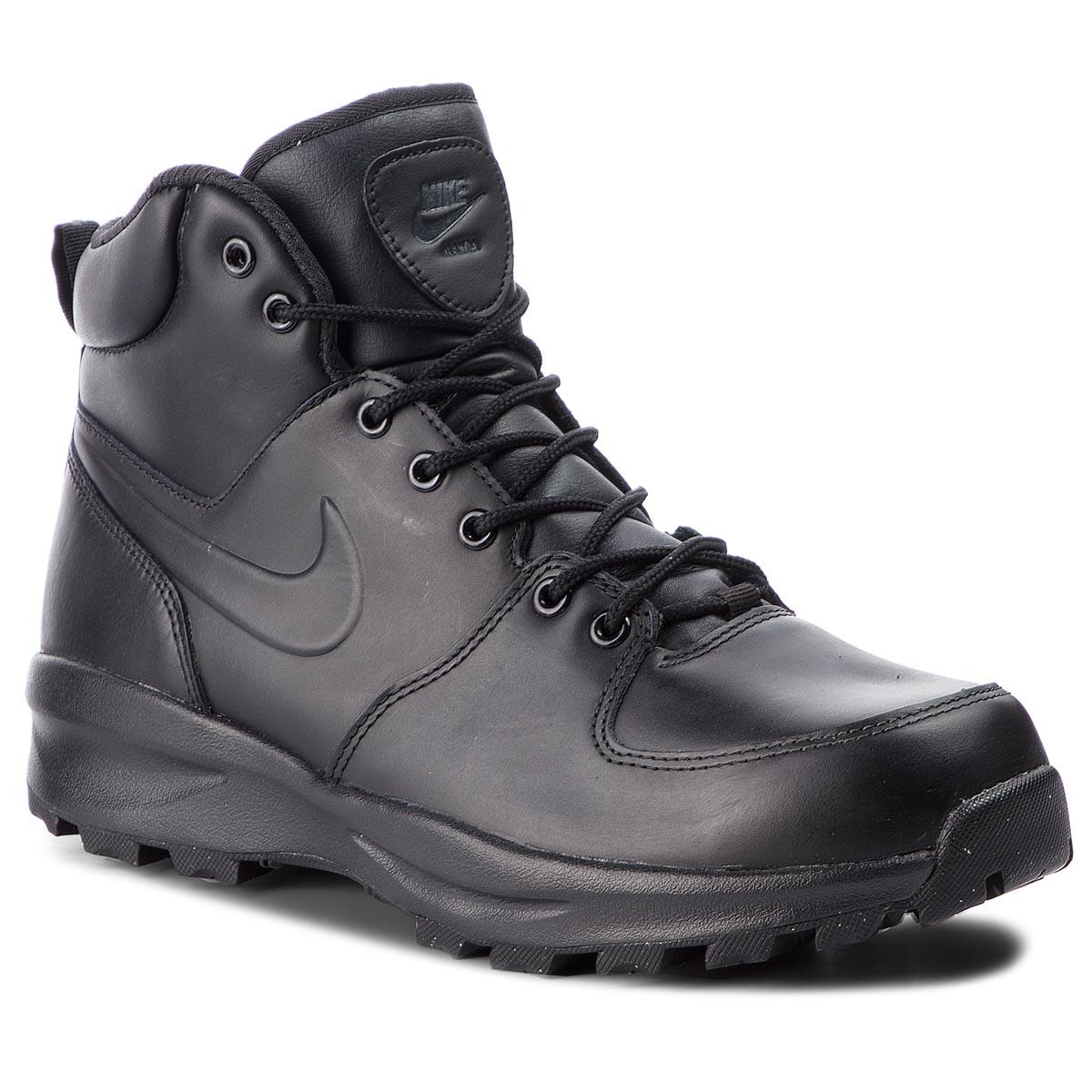 wholesale dealer cae87 f4111 Shoes NIKE Manoa Leather 454350 003 Black Black Black