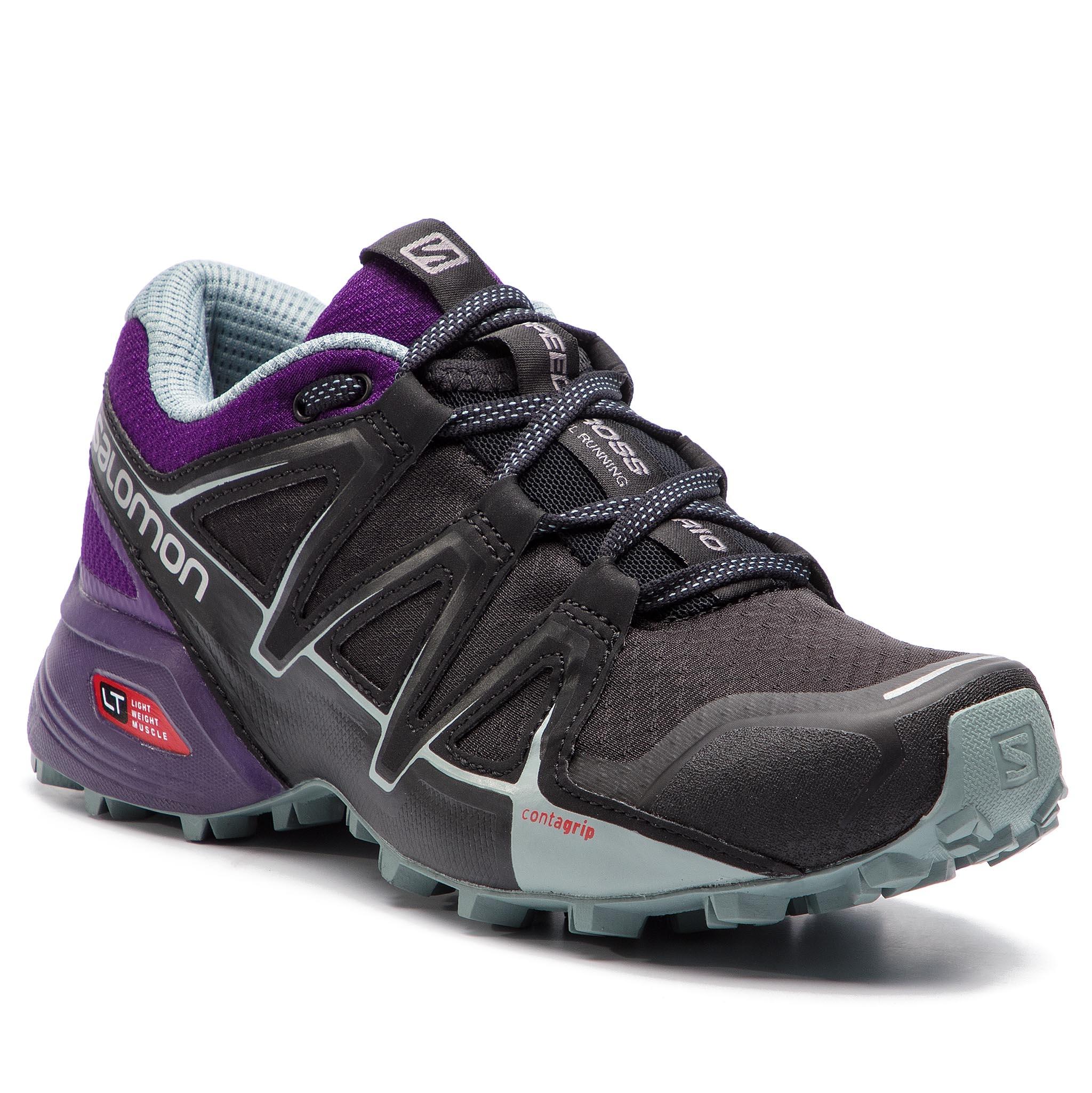 online store 0cf25 5934c Shoes SALOMON Speedcross Vario 2 W 406107 20 V0 Black Acai Lead