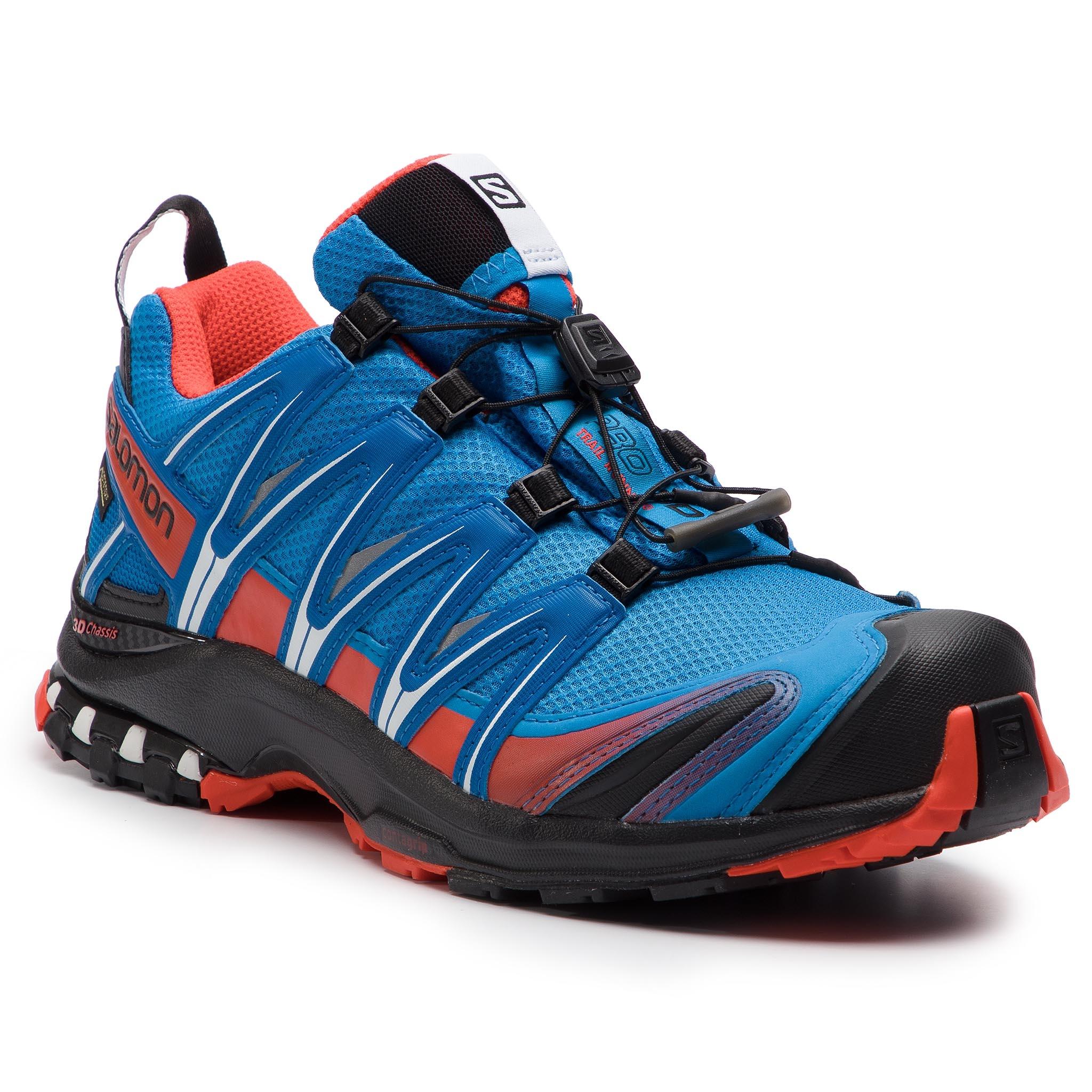 e58f2d68c50a Shoes SALOMON Xa Pro 3D Gtx GORE-TEX 406715 27 V0 Indigo Bunting Sky  Diver Cherry Tomato