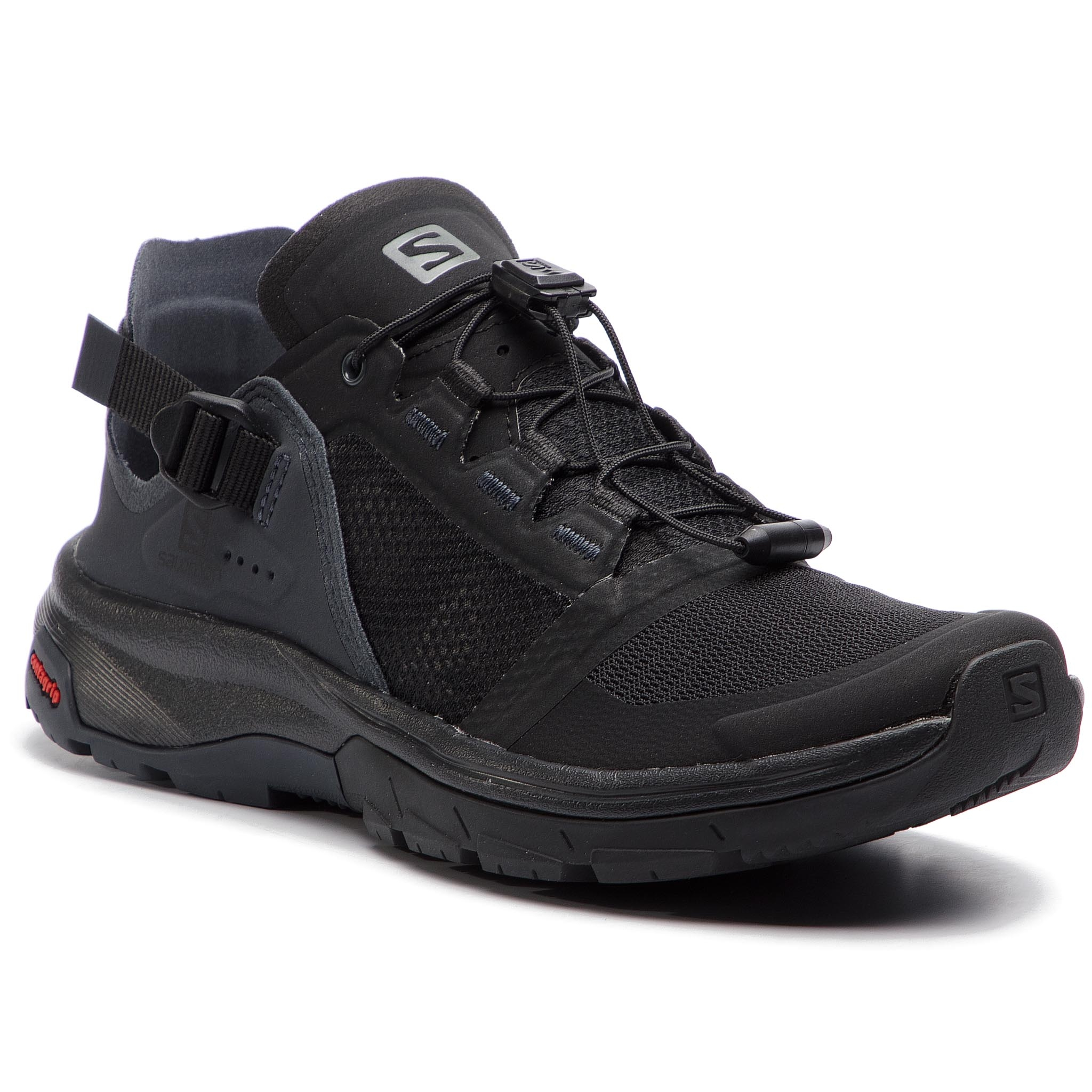 3eddb1243ac54 Trekker Boots SALOMON Techamphibian 4 W 406813 22 V0 Black Ebony Quiet Shade
