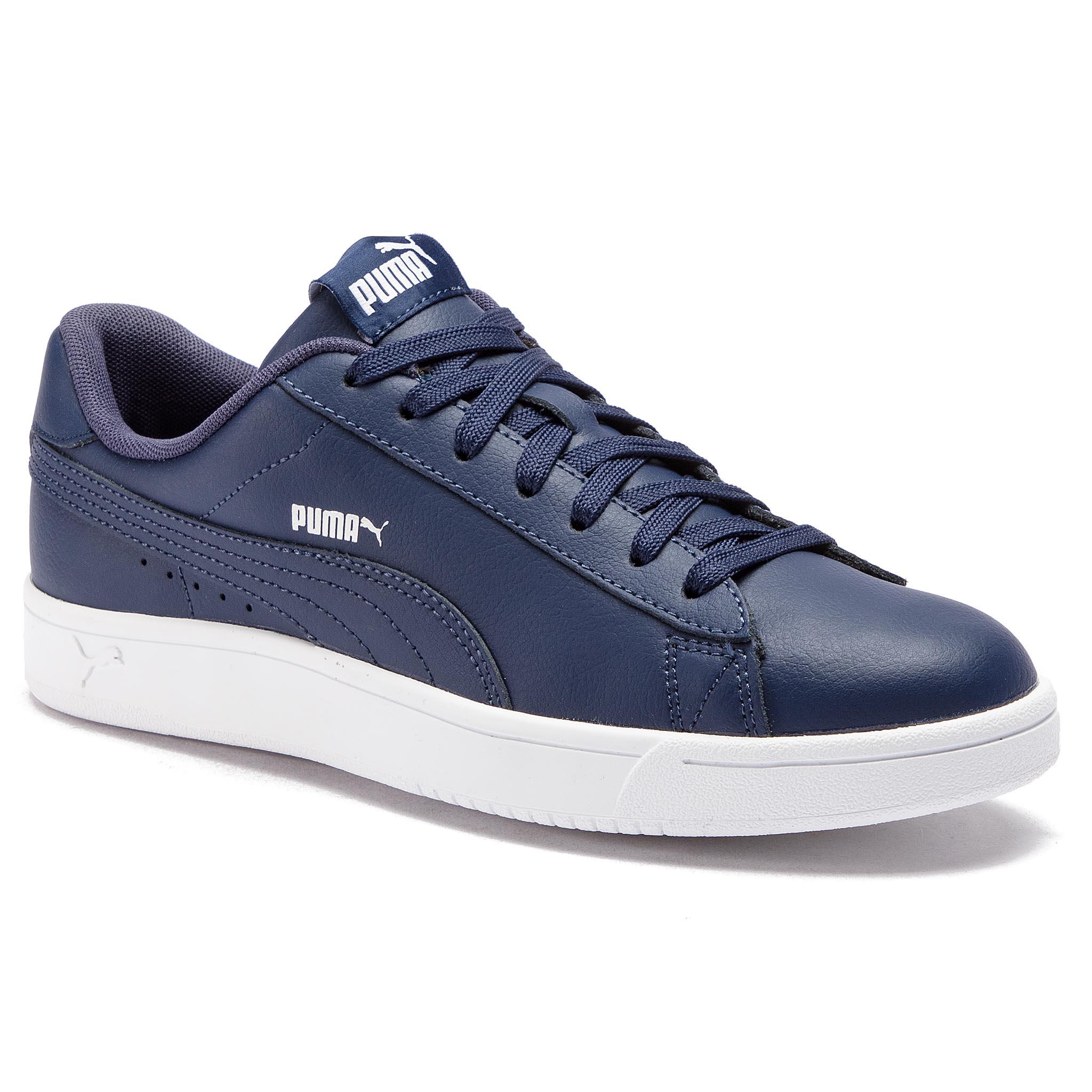 4b5360225 Sneakers PUMA Court Breaker Derby L 369503 03 Peacoat Silver Puma White