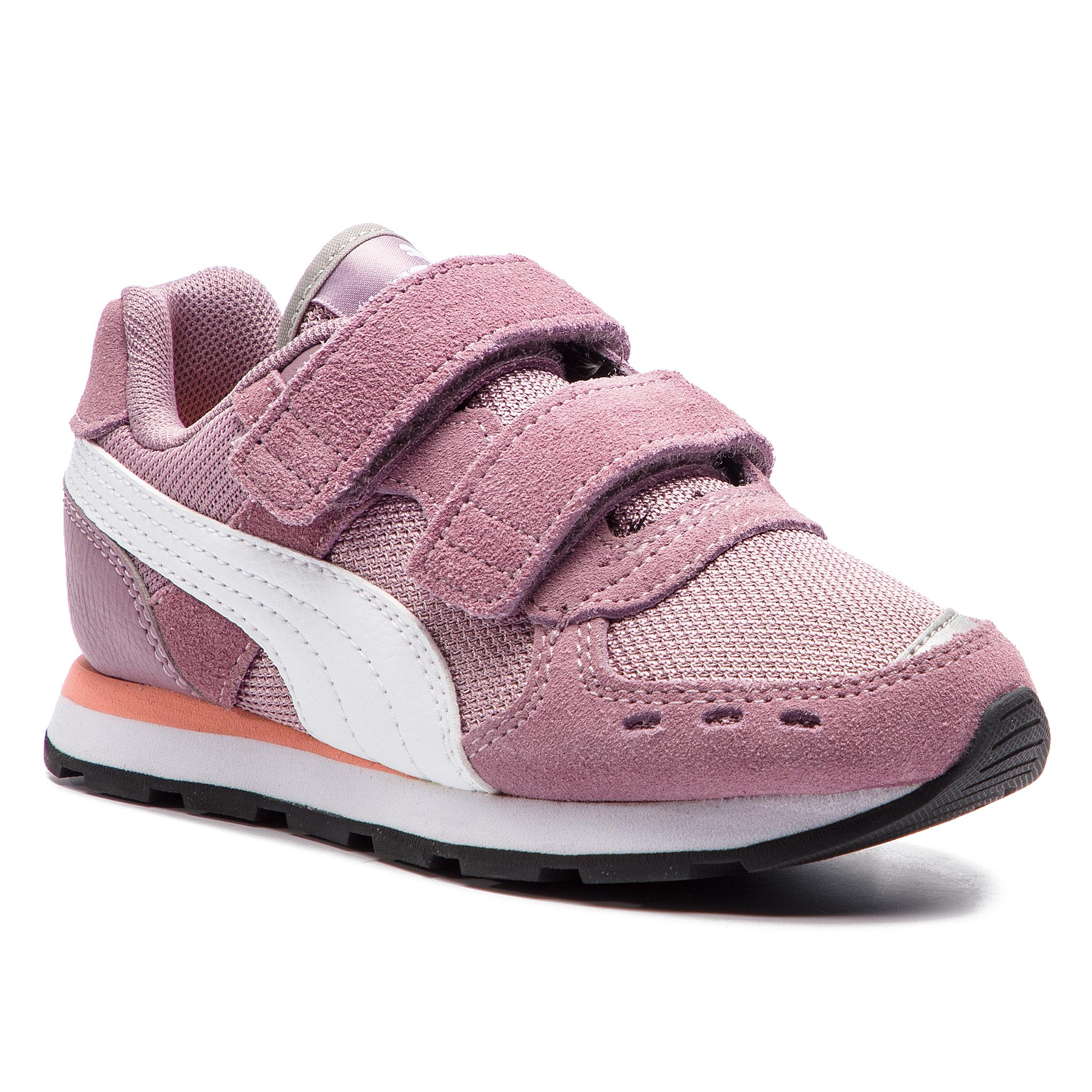 f7e7210fbbc Sneakers PUMA - Vista V Inf 369541 04 Elderberry/Puma White - Velcro ...
