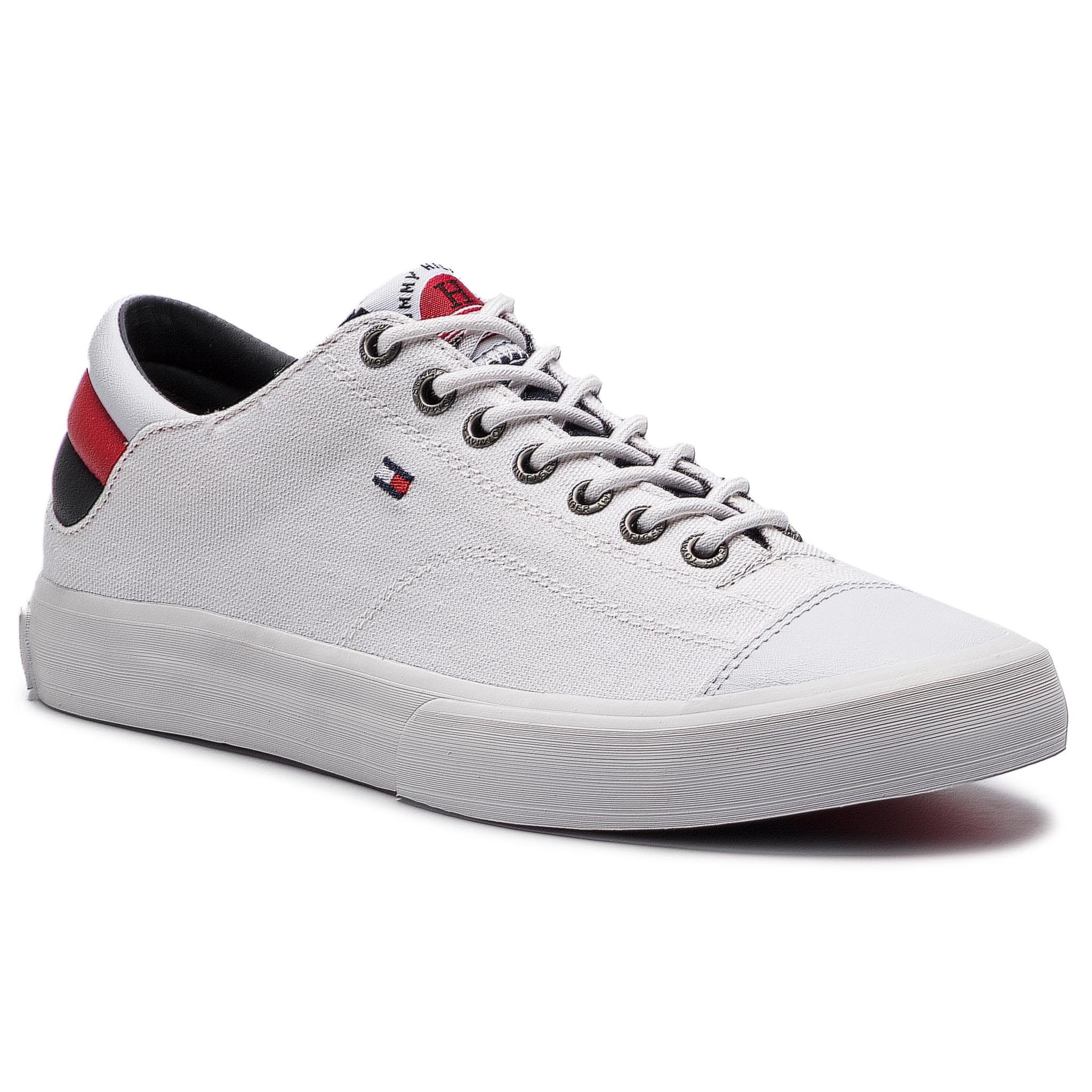 48ffc1e1acb4 Plimsolls TOMMY HILFIGER - Iconic Long Lace Sneaker FM0FM01536 ...