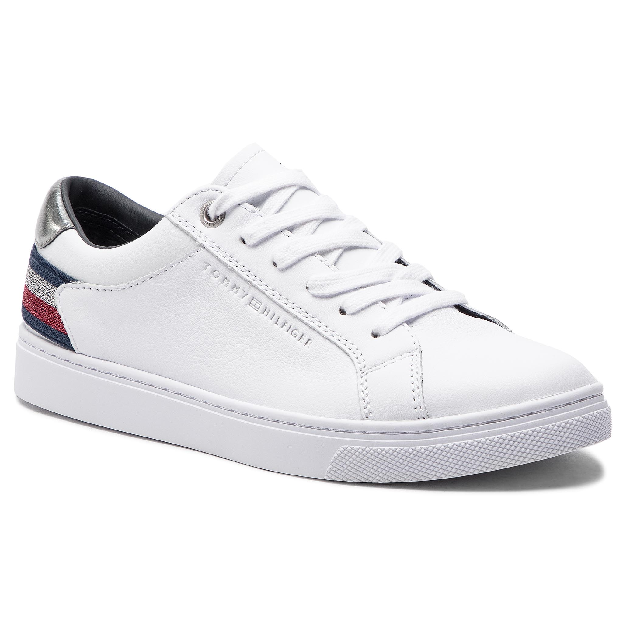 4b269c817cb4e Sneakers TOMMY HILFIGER - Essential Sneaker FW0FW03710 White 100 ...