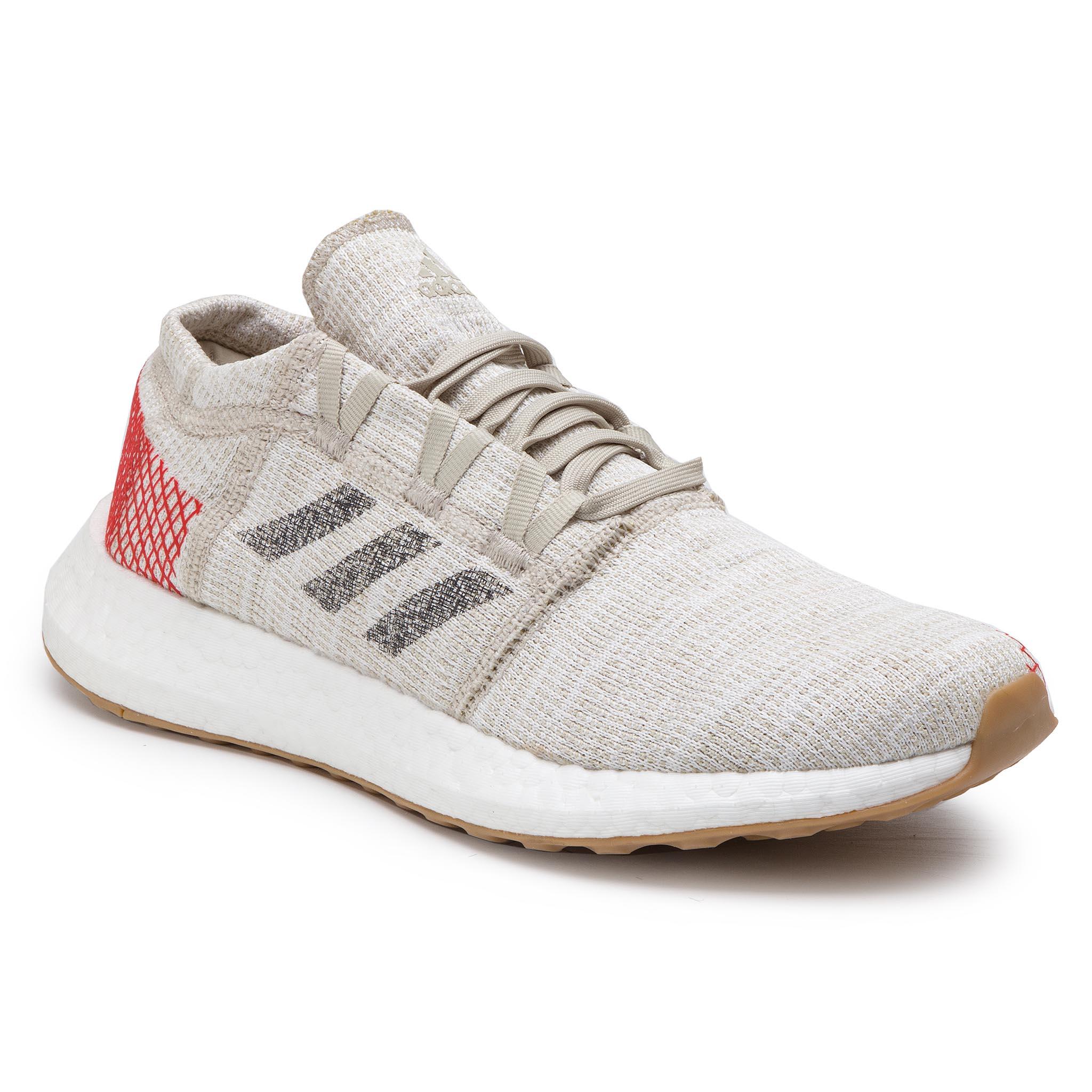 5f20bd307 Buty adidas - PureBoost Go B37802 Nondye Gresix Rawwht - Indoor ...