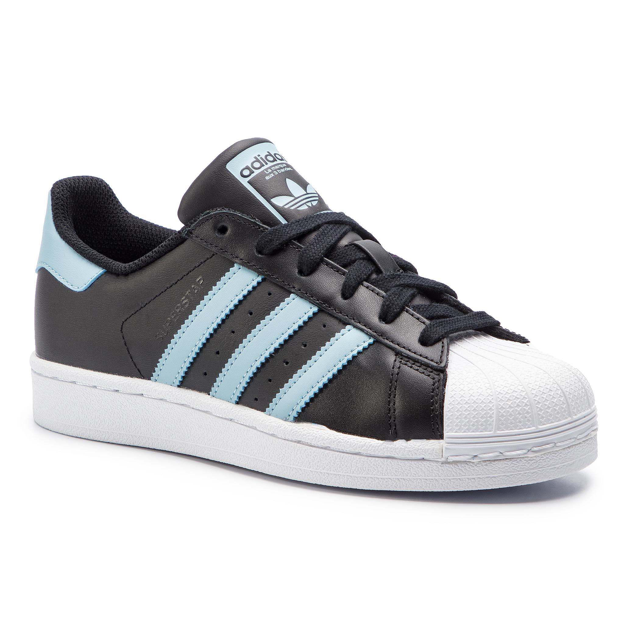 81005caa16528 Shoes adidas - Superstar B41994 Cblack Borang Ftwwht - Sneakers ...