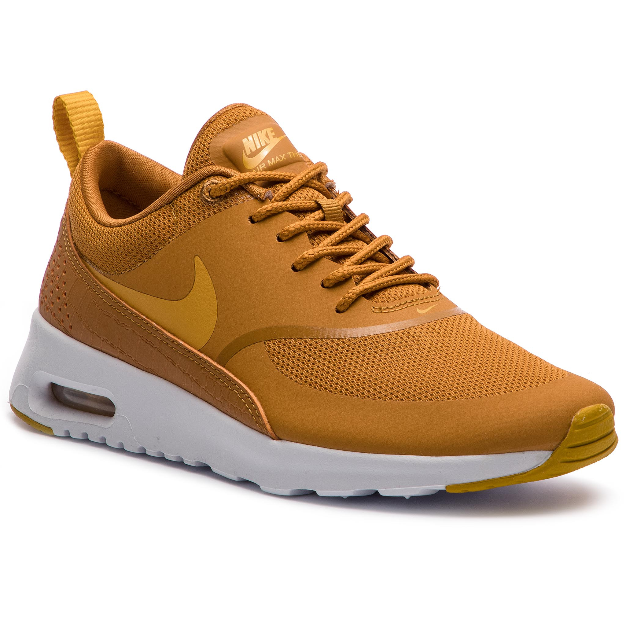 release date ec39d 587db Shoes NIKE Air Max Thea 599409 701 Desert Ochre Gold Dart White