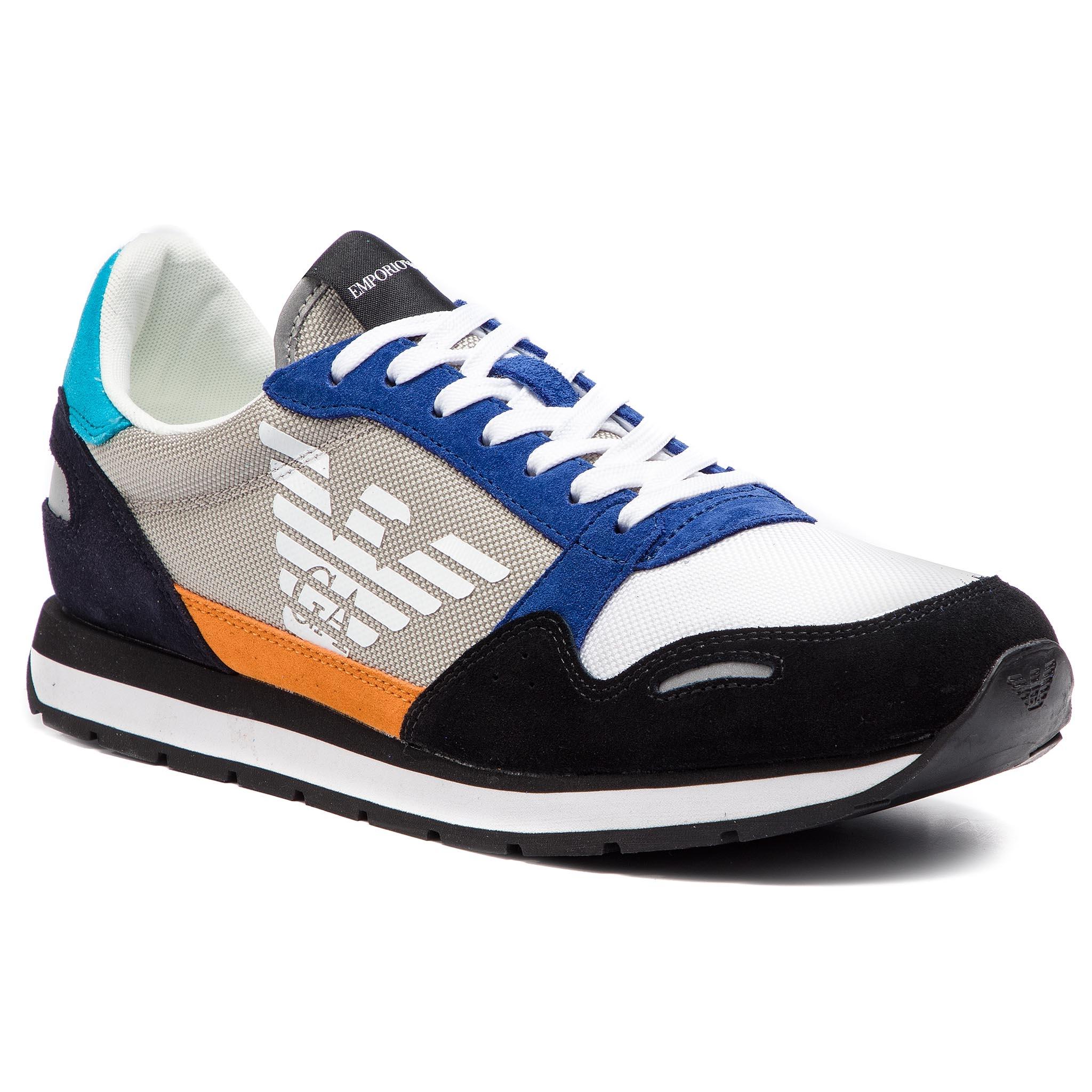 52b8e3c2b1fd3 Sneakers EMPORIO ARMANI - X4X215 XL200 A005 Scarlet Multicolor ...