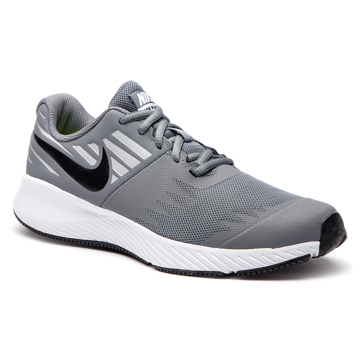 57e349a4fa Shoes NIKE Star Runner (GS) 907254 006 Cool Grey/Black/Volt/Wolf Grey