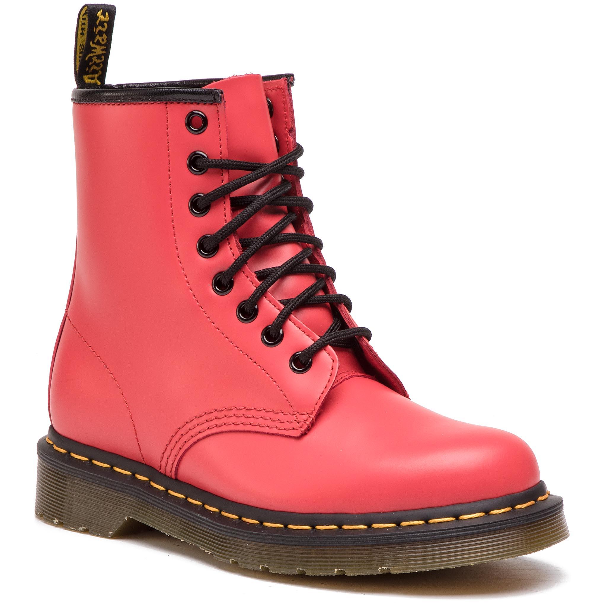25c15ea15dc8 Combat Boots DR. MARTENS - 1460 Pascal Glitter 24839602 Red/ Fine ...
