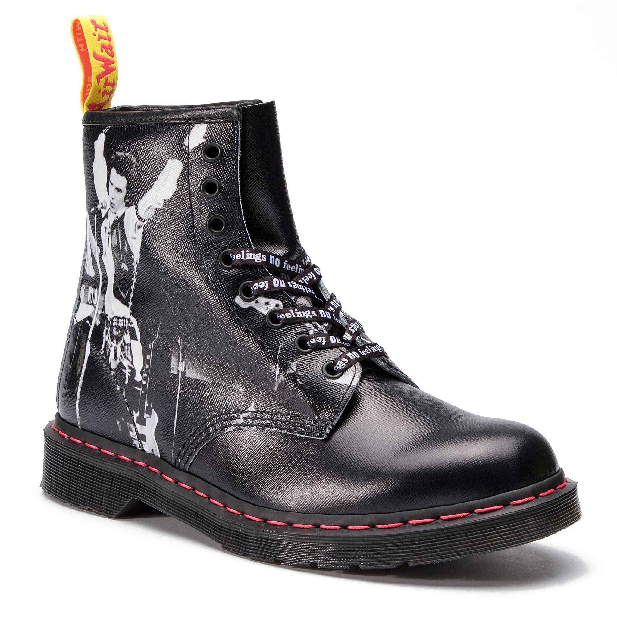 8200a3940bfa Combat Boots DR. MARTENS. 1460 Pascal Glitter 24839602 Red/ Fine Glitter