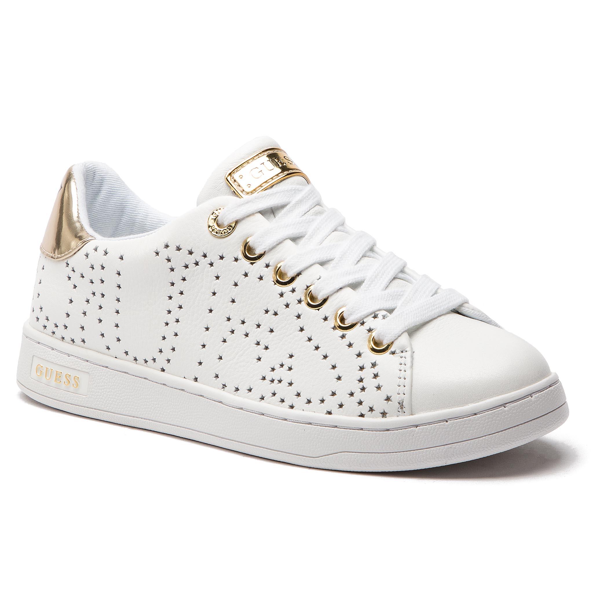 e95b8d0bd0 Sneakers GUESS - Marty FI5MAR PEL12 BLANC/WHITE - Boots - High boots ...