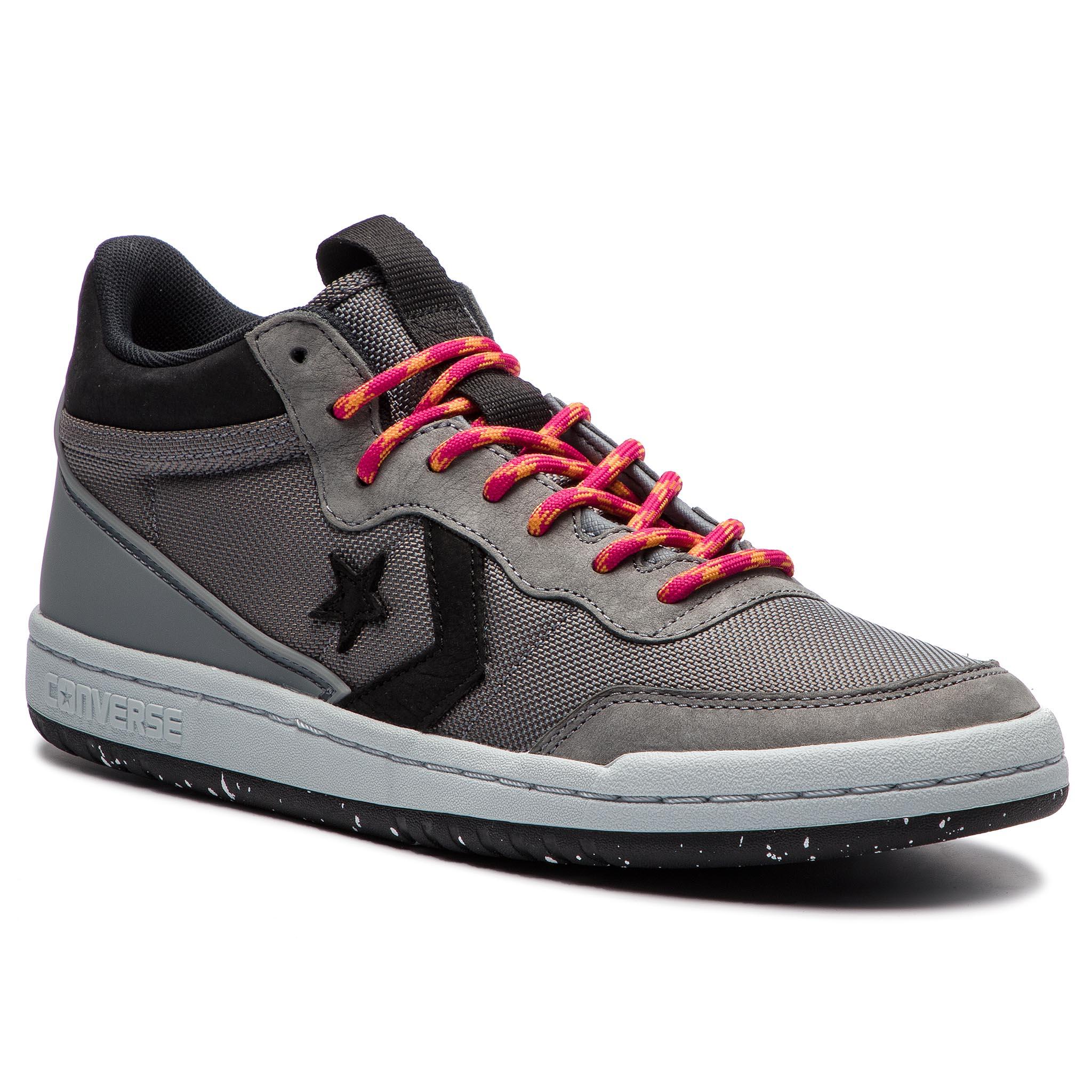 Fastbreak Converse Blackblackwhite Sneakers Mid 160577c wk8n0OP