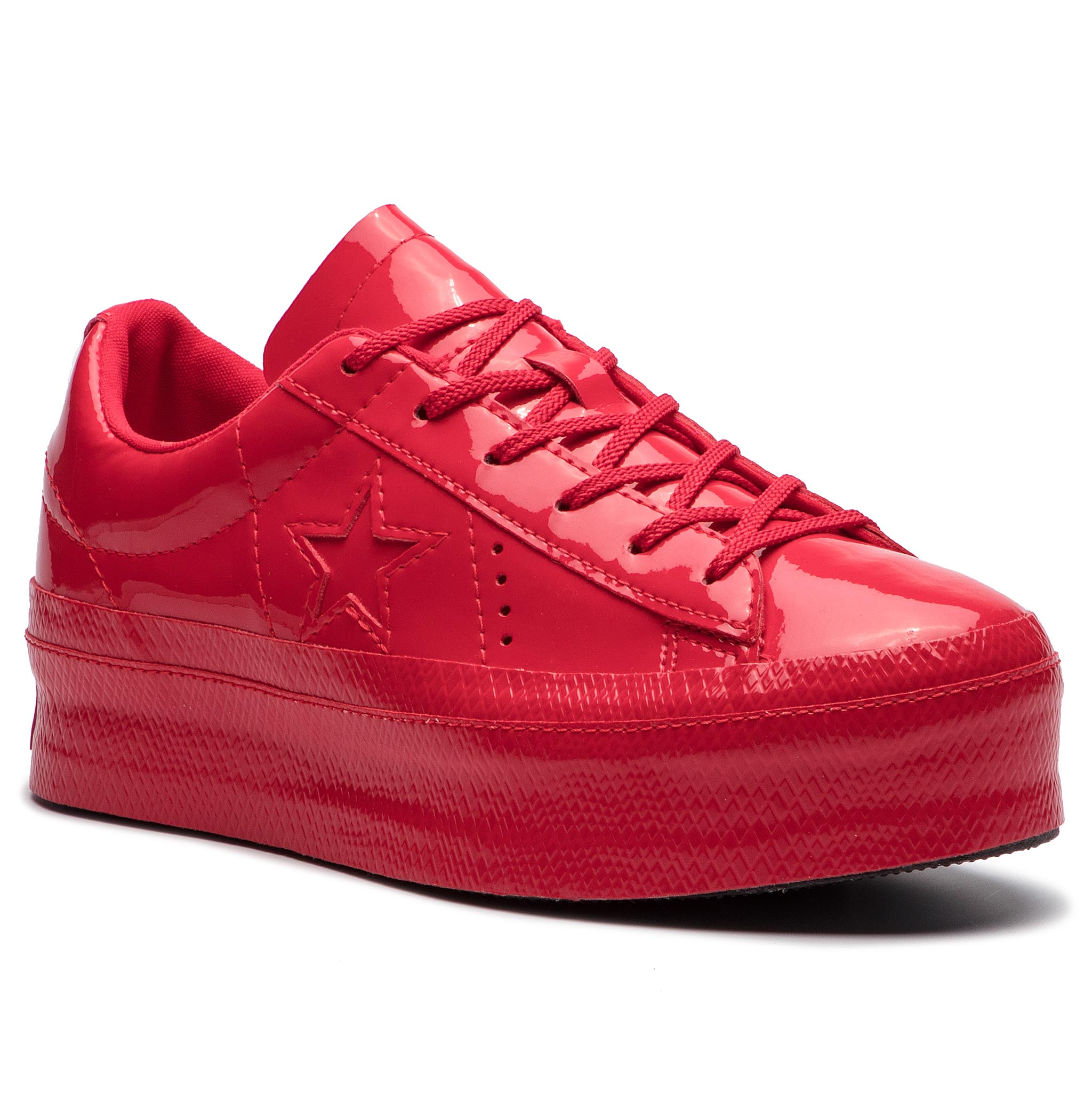f9ef4b34ebee Sneakers CONVERSE One Star Platform Ox 562606C Cherry Red Cherry Red Black