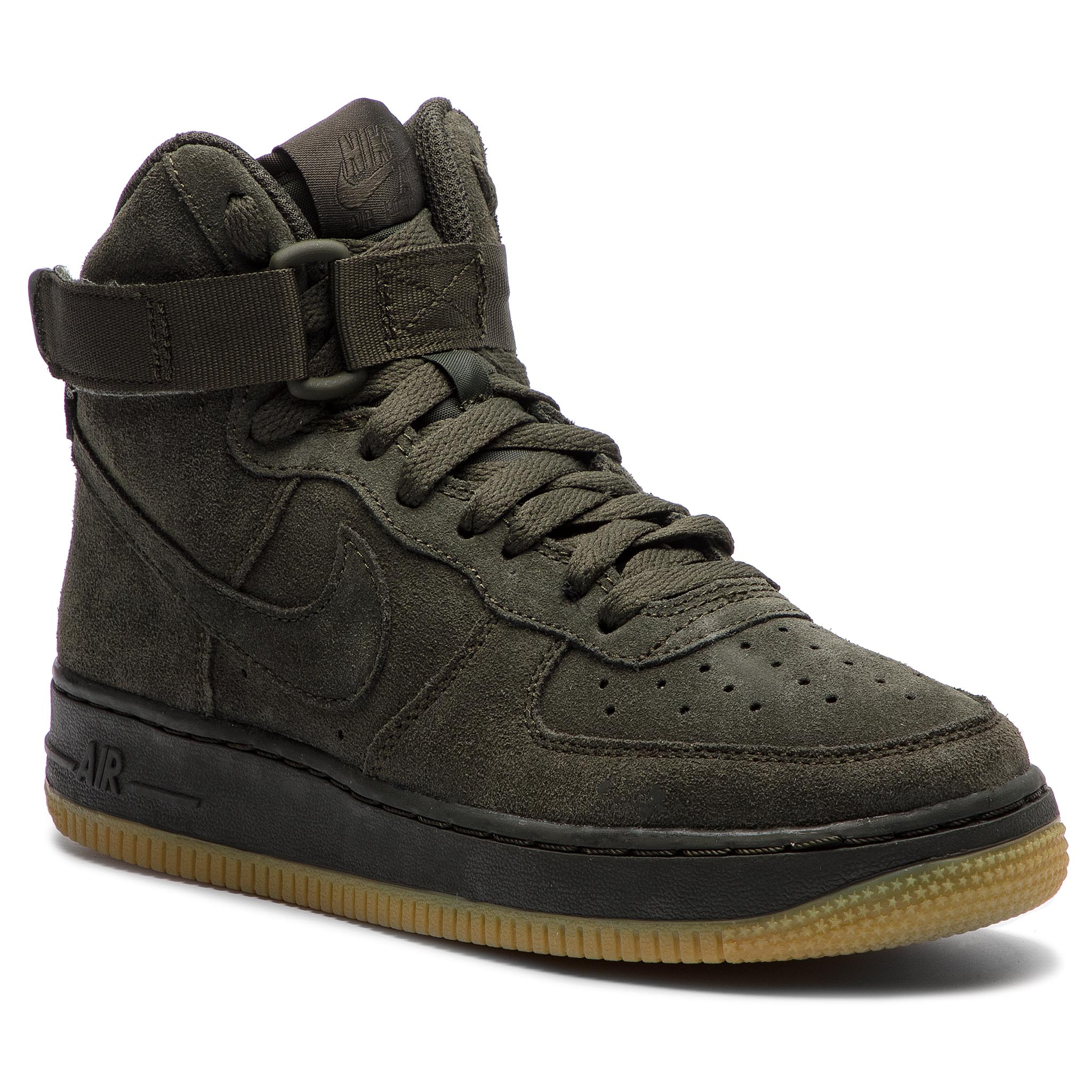 new style 00631 b43d3 Shoes NIKE Air Force 1 High Lv8 (GS) 807617 300 Sequoia Sequoia