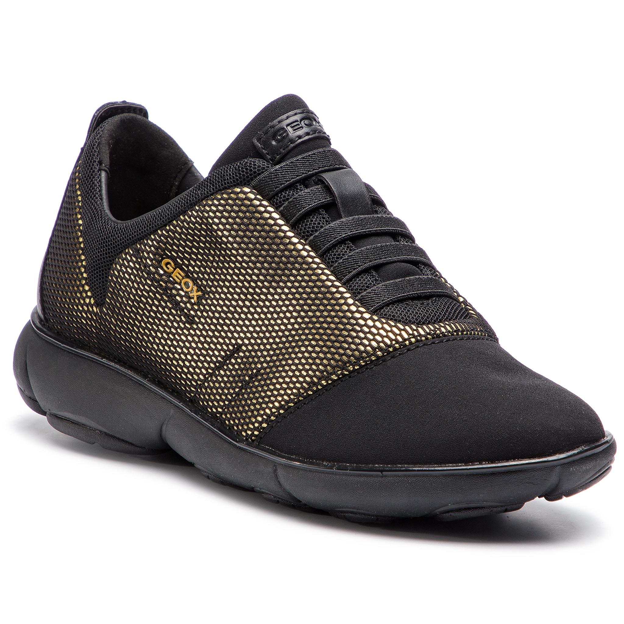 49592bc9967 Shoes GEOX - D Nebula C D621EC 00078 C9999 Black - Flats - Low shoes ...