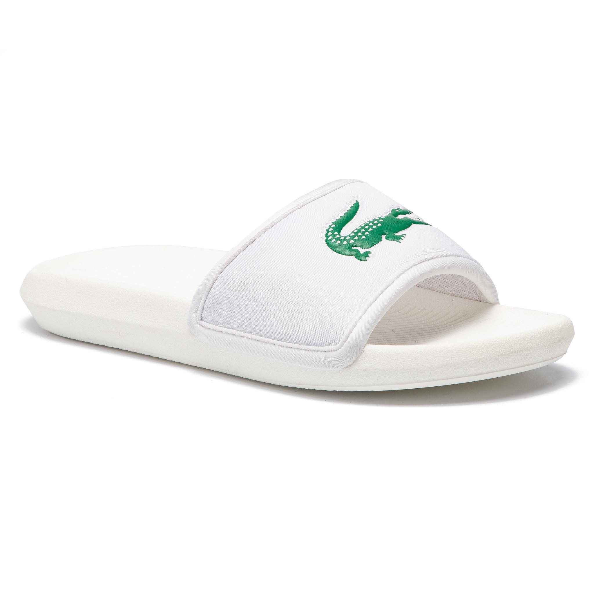 d54595d92db9 Slides LACOSTE - Croco Slide 119 1 Cma 7-37CMA00181R7 Green White ...
