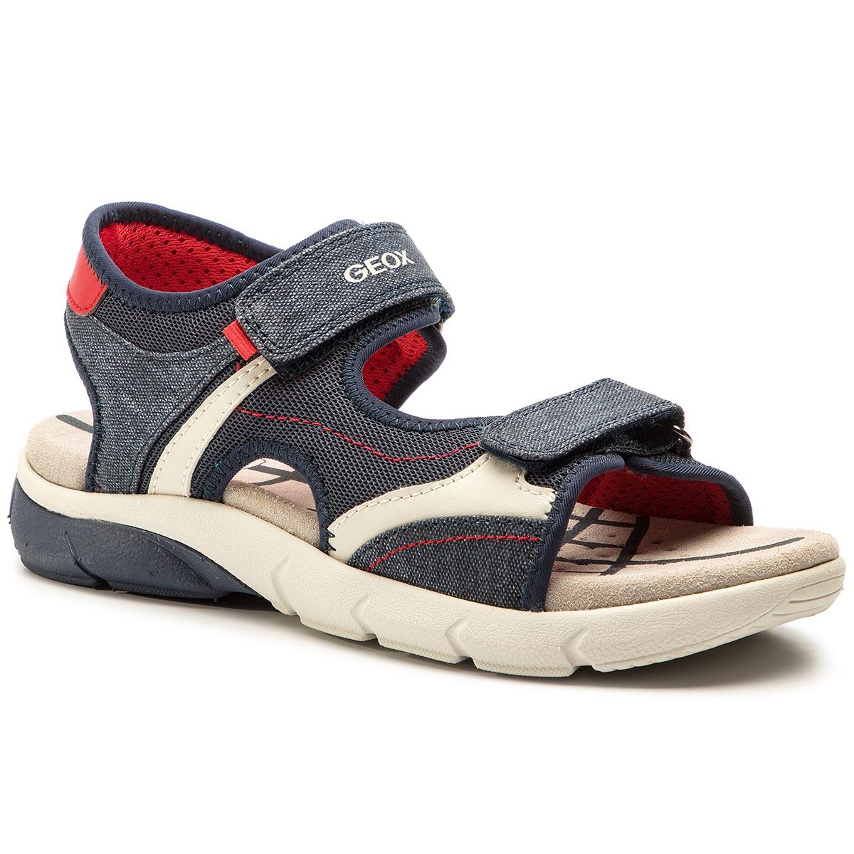 Sandales GEOX J Wader A J9230A 01554 C4226 M NavyRoyal