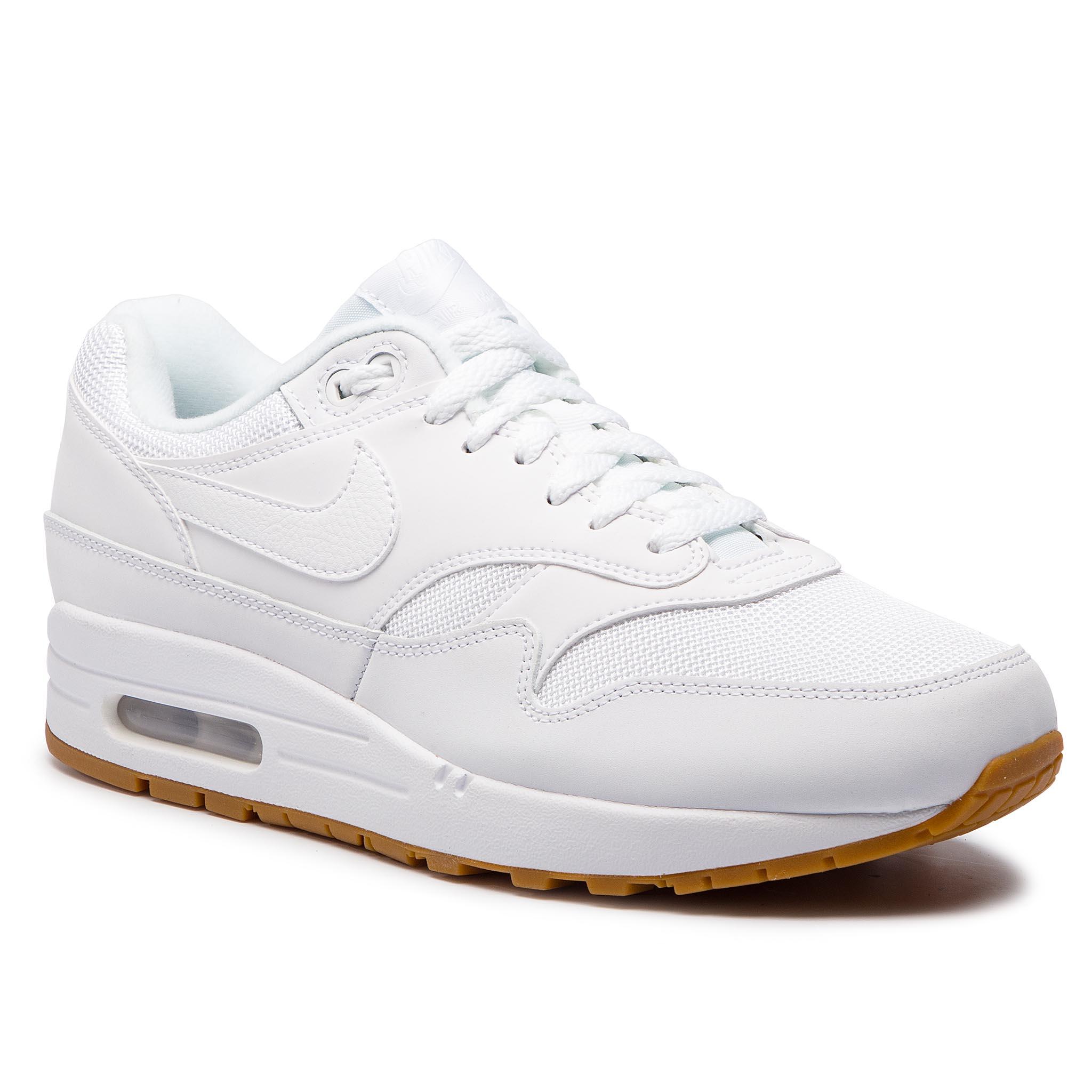 new style bafc1 b4abf Shoes NIKE Air Max 1 AH8145 109 White White White