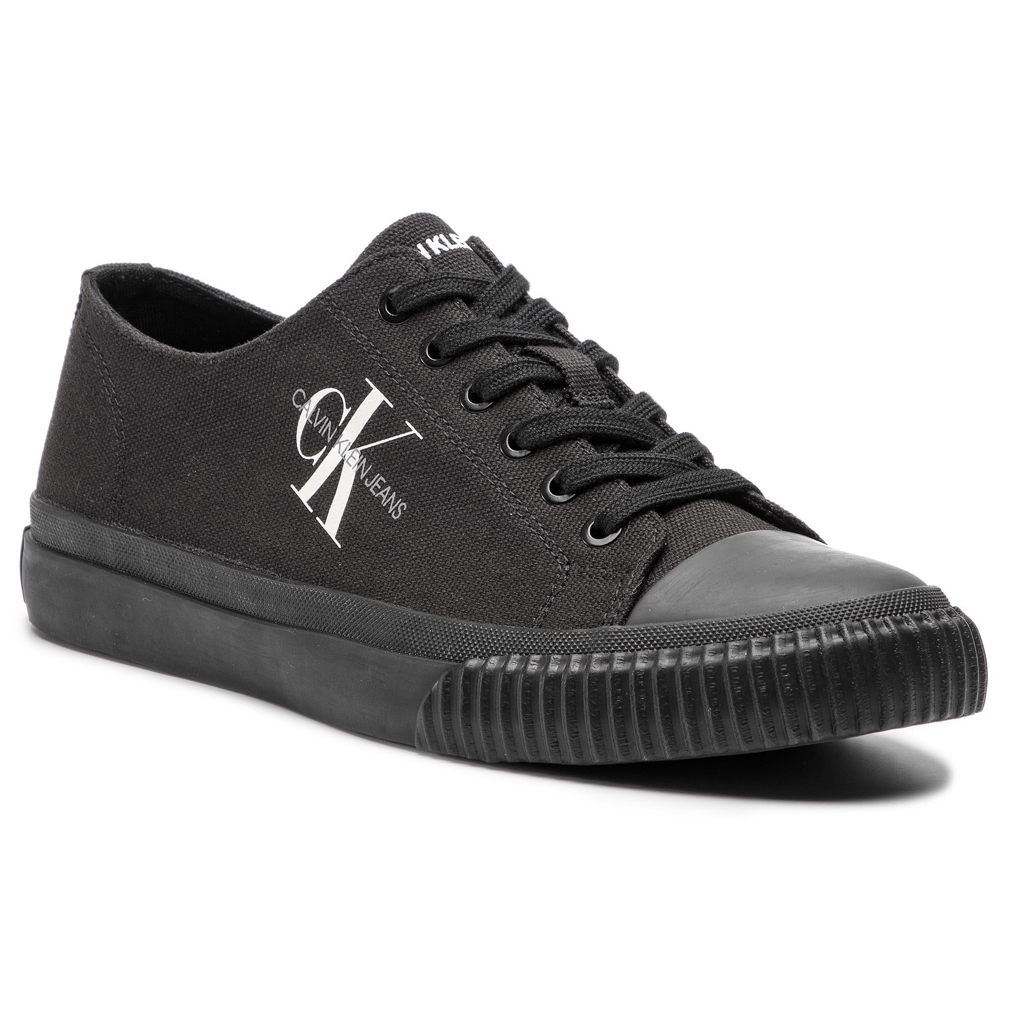54cd6c6a1 Plimsolls CALVIN KLEIN JEANS - Arnold S0369 Black - Sneakers - Low ...