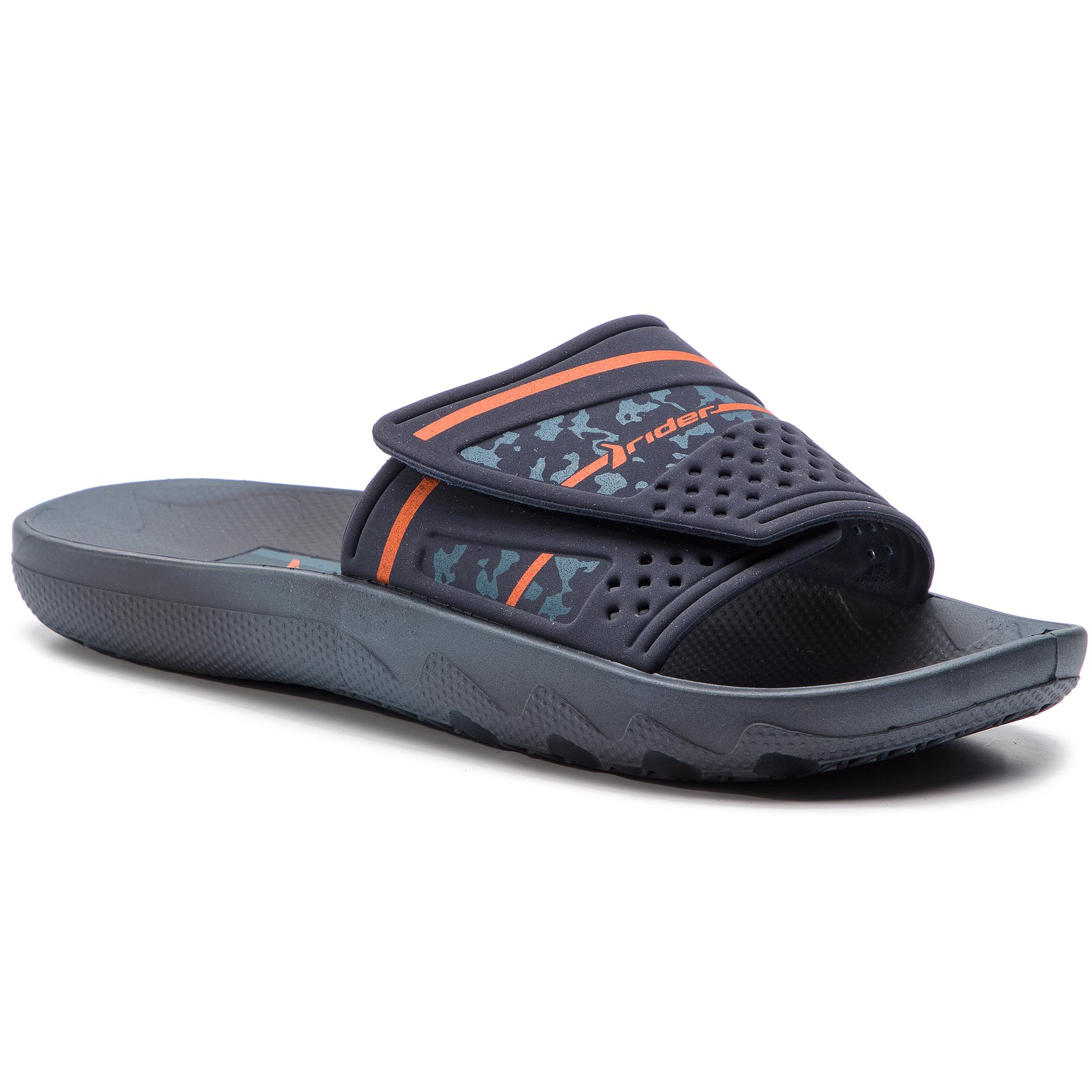 318c3c09654b3 Slides NIKE - Benassi Solarsoft 705474 091 Black/Anthracite - Clogs ...