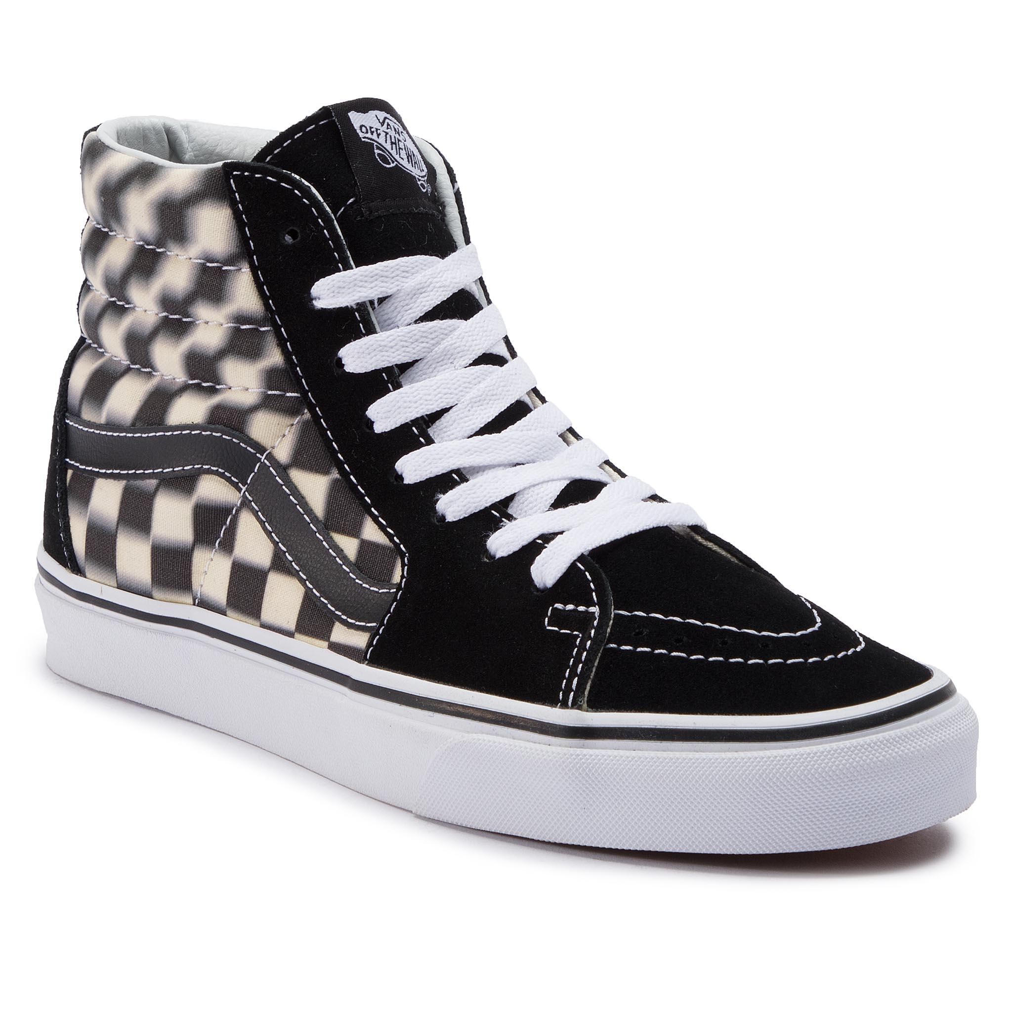 92307b5716 Sneakers VANS - Sk8-Hi VN000D5IB8C Black White - Sneakers - Low ...